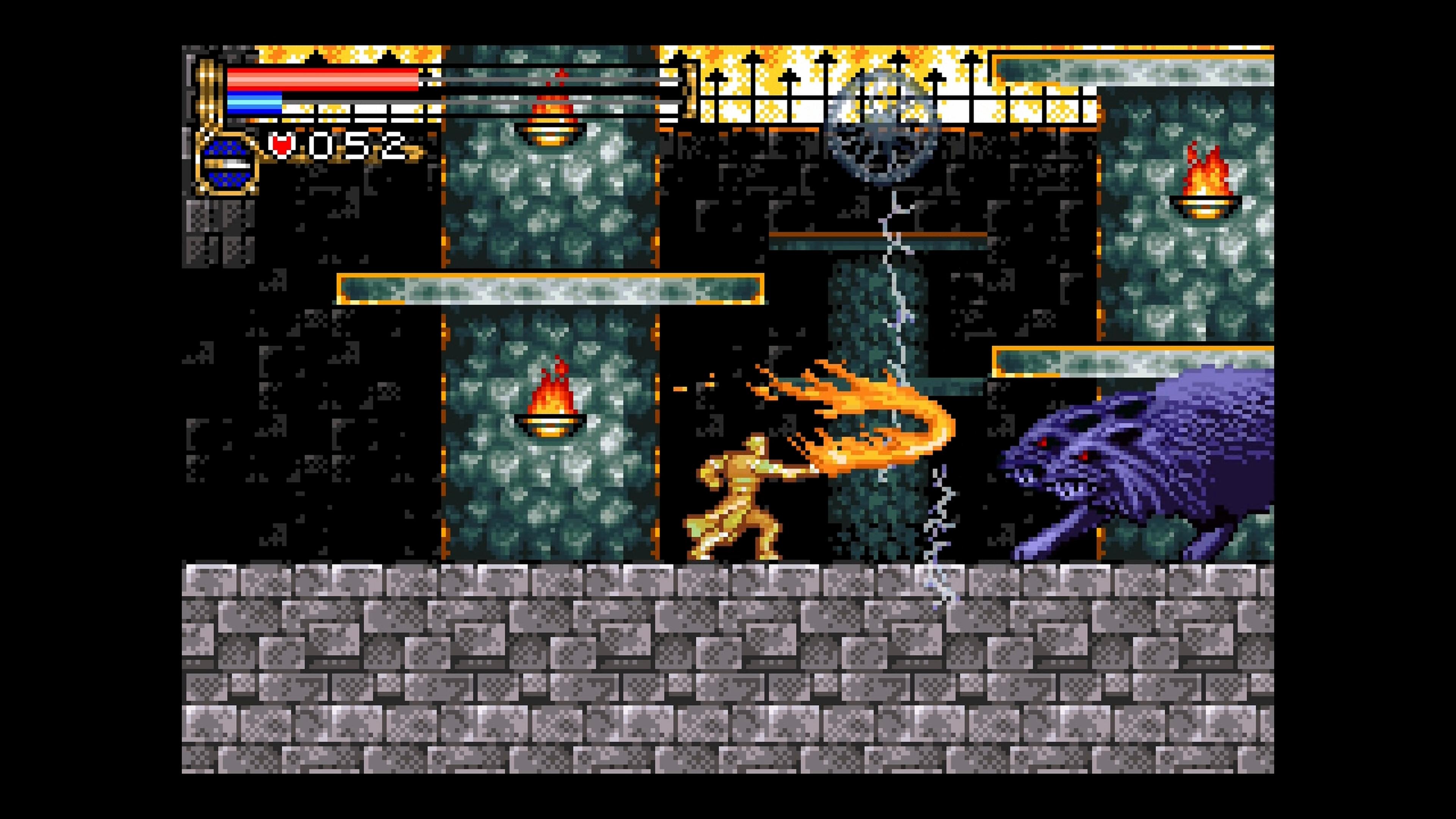 Скриншот №2 к Castlevania Advance Collection