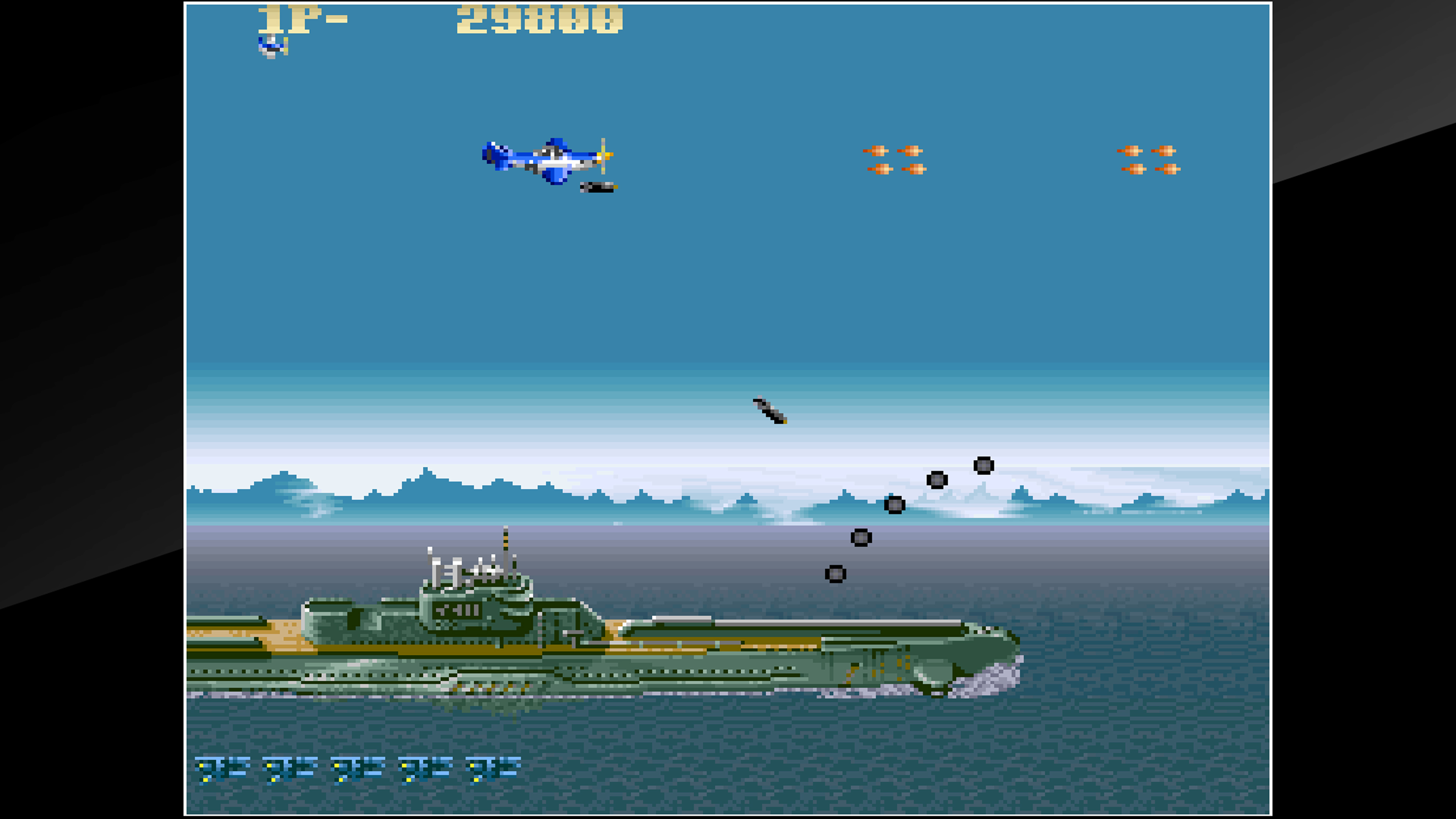 Скриншот №3 к Arcade Archives USAAF MUSTANG