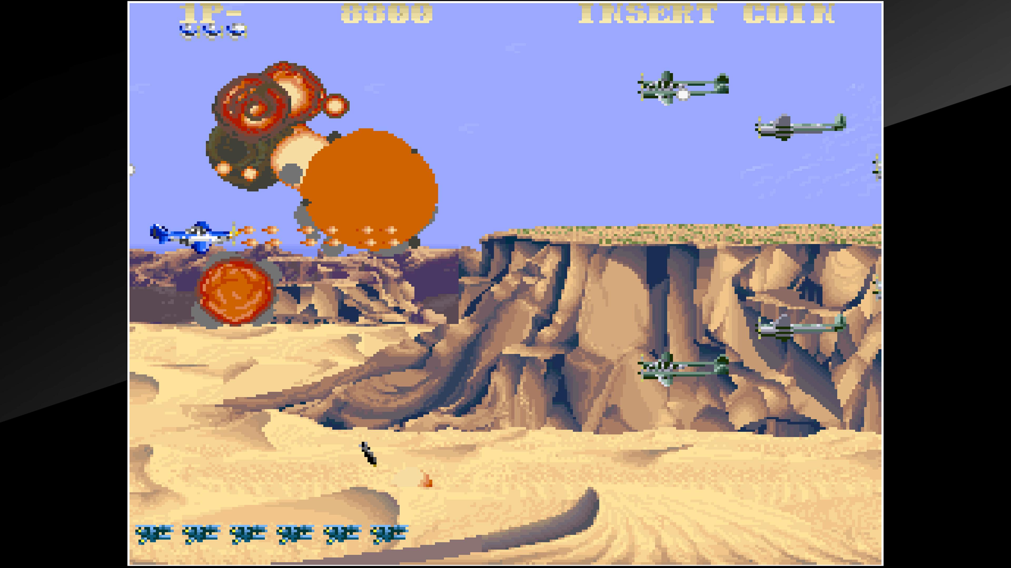 Скриншот №6 к Arcade Archives USAAF MUSTANG