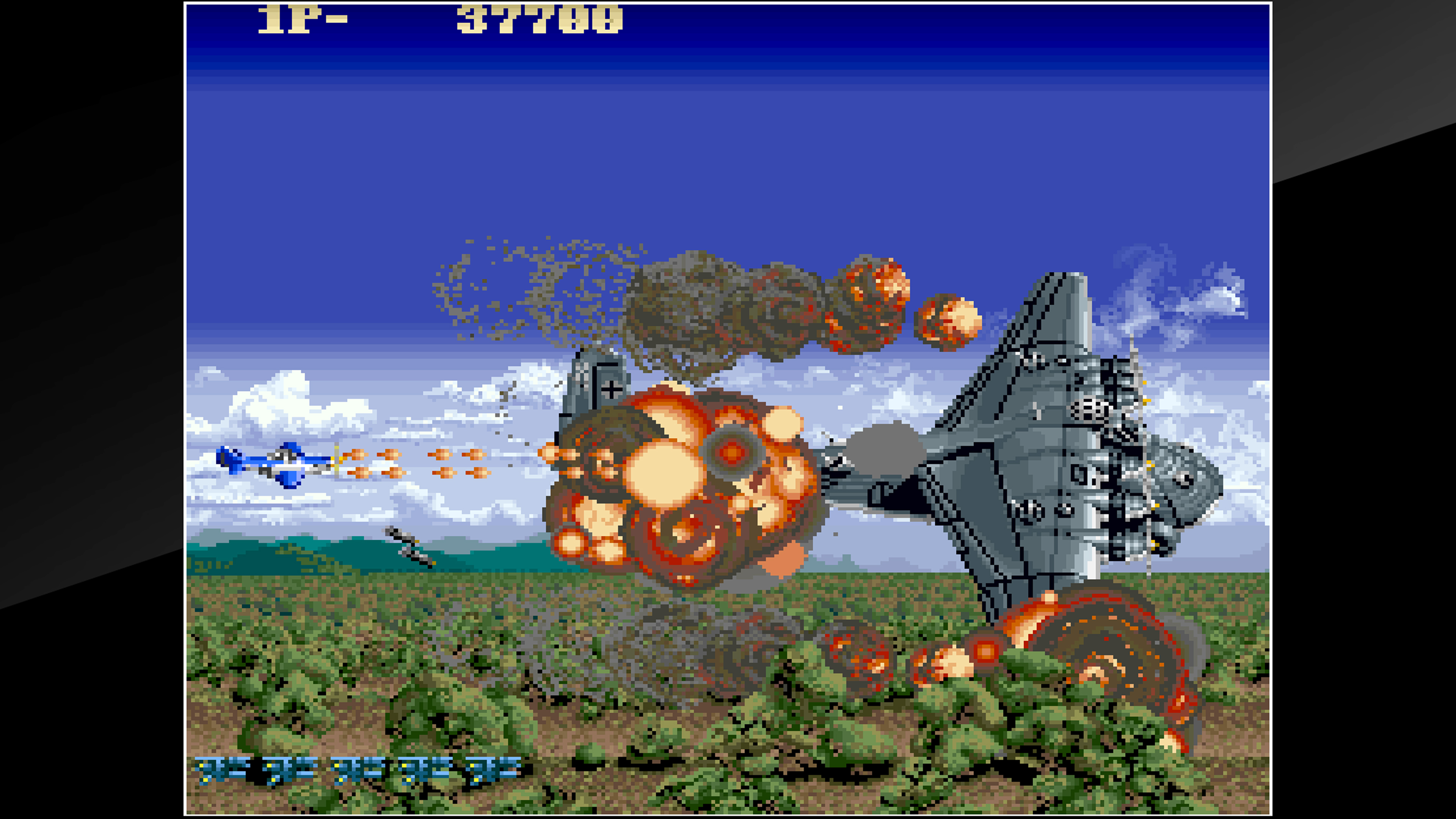 Скриншот №2 к Arcade Archives USAAF MUSTANG