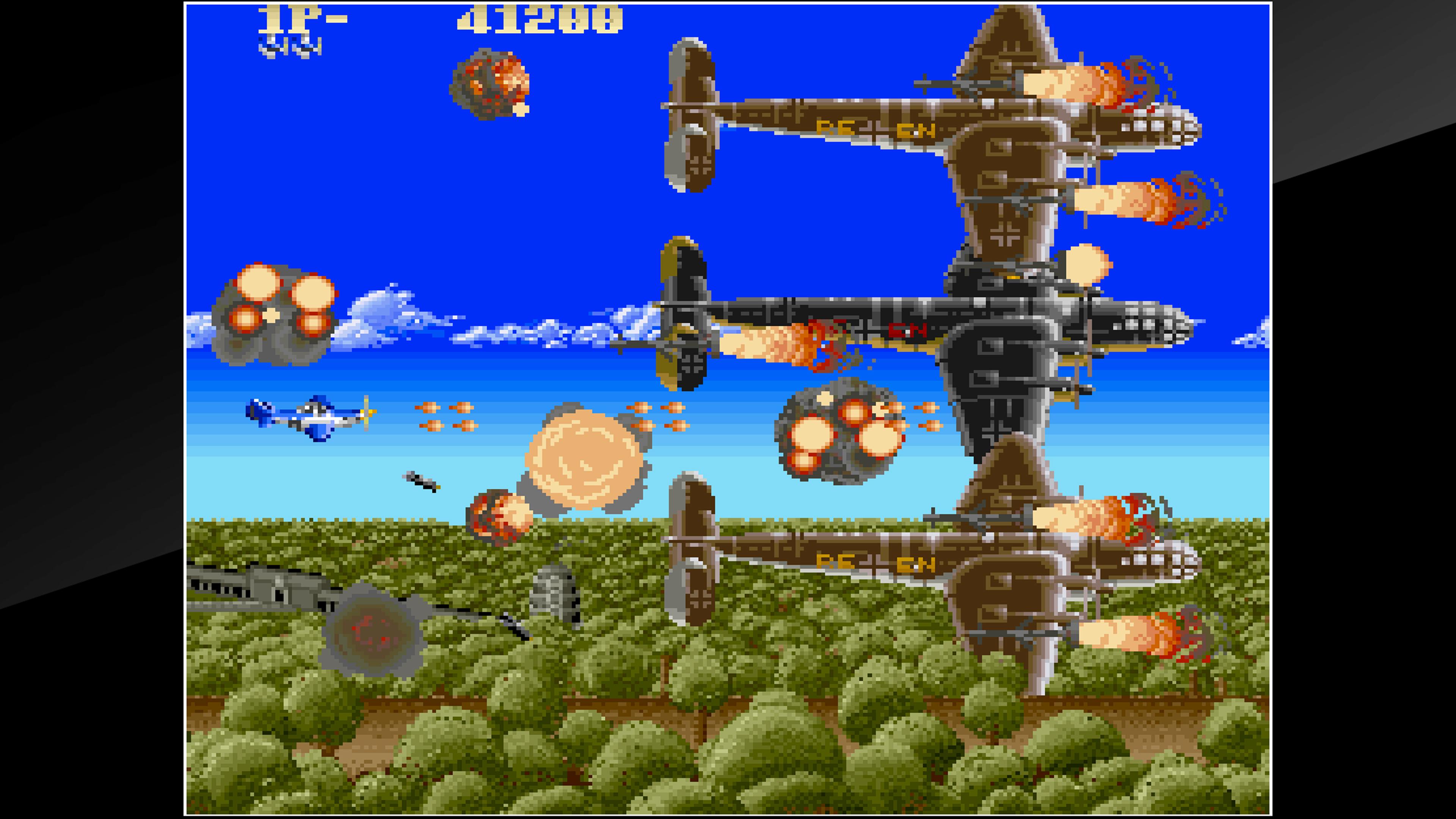 Скриншот №7 к Arcade Archives USAAF MUSTANG