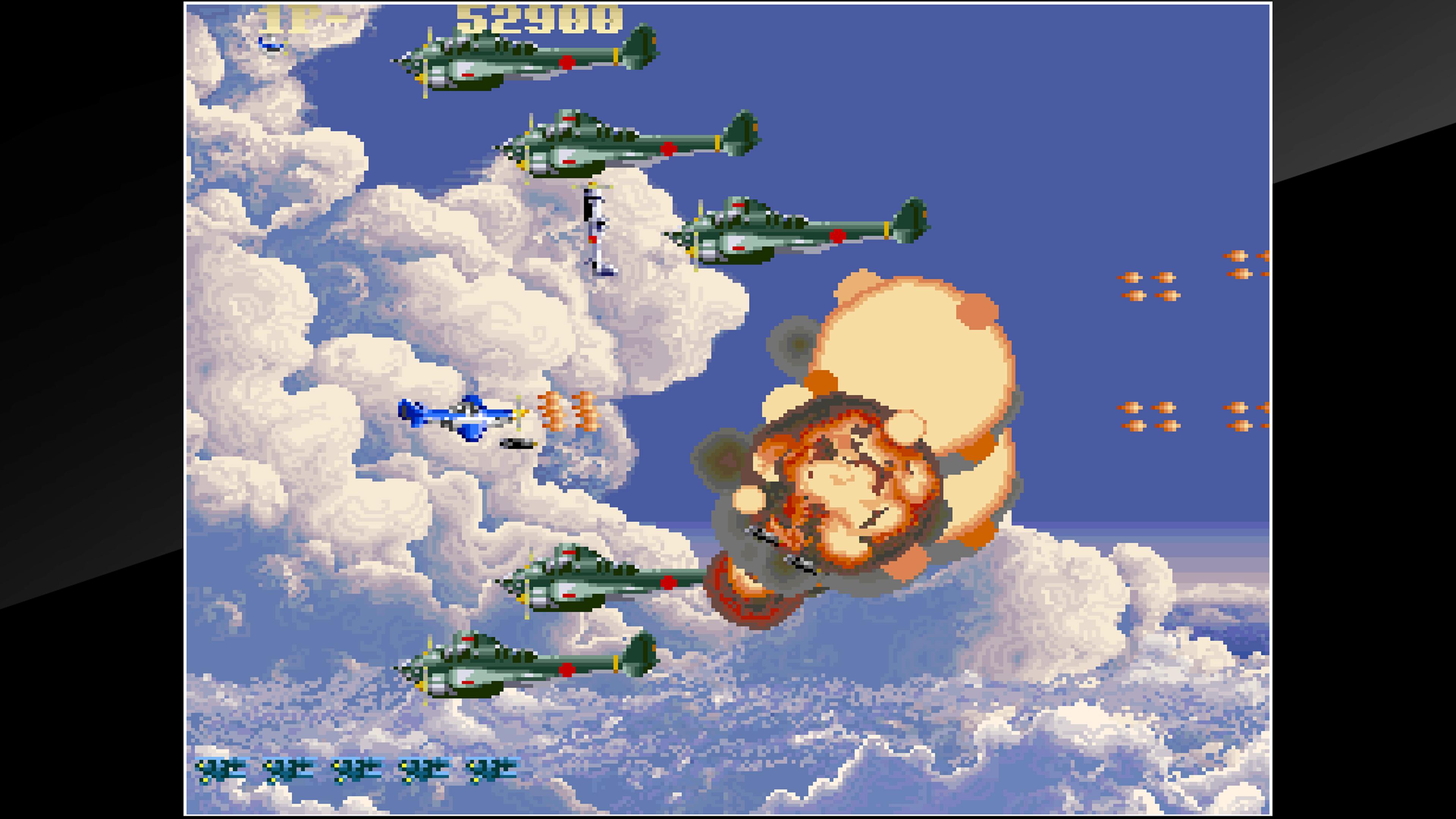 Скриншот №5 к Arcade Archives USAAF MUSTANG