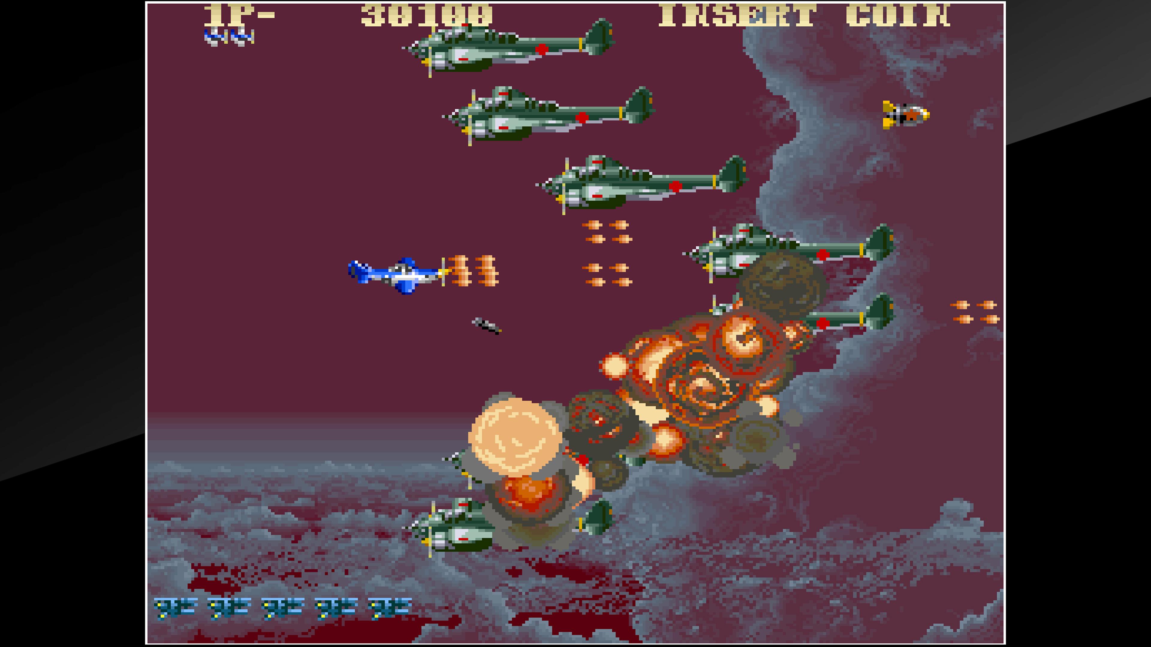 Скриншот №4 к Arcade Archives USAAF MUSTANG