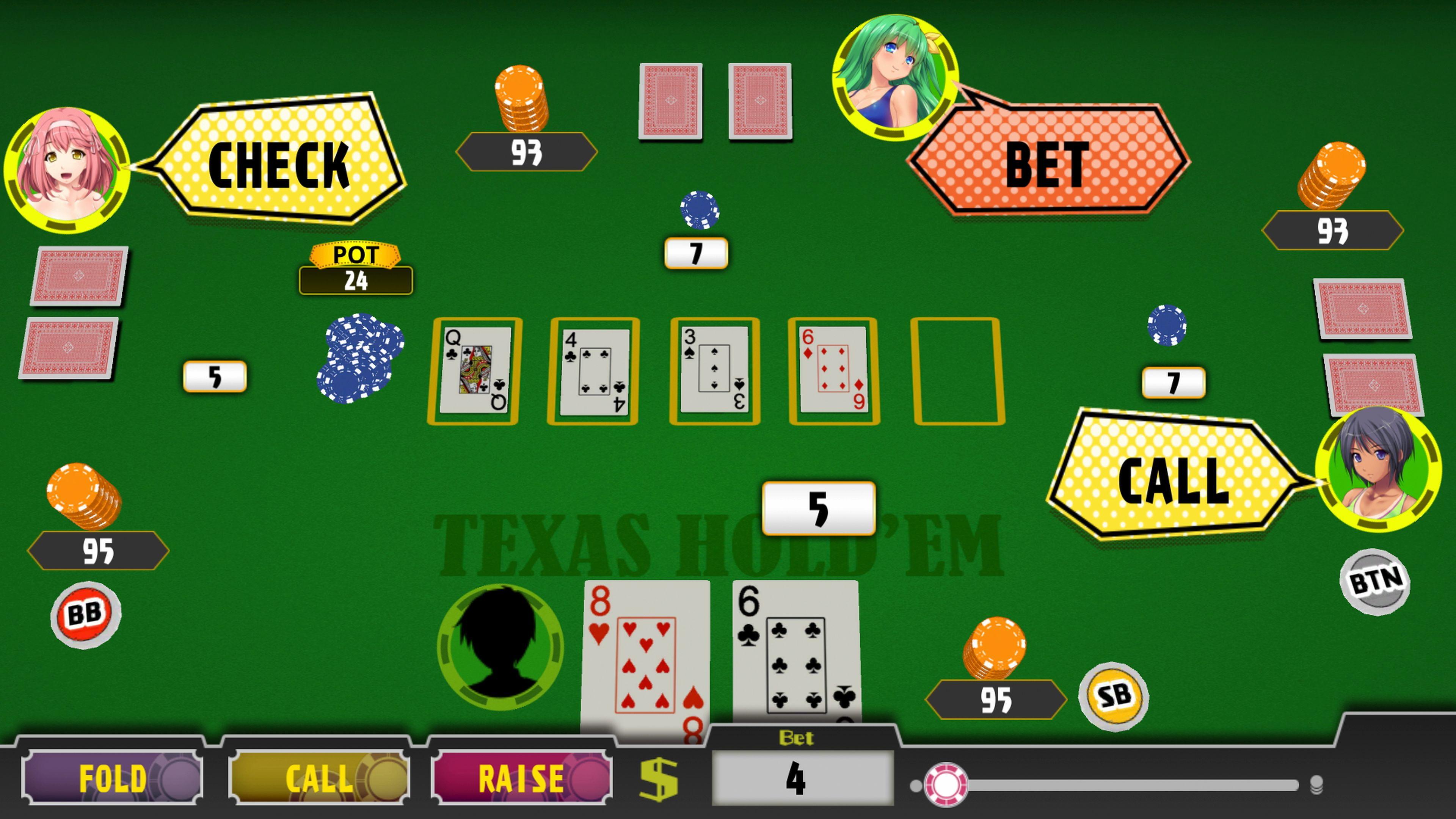 Скриншот №7 к Poker Pretty Girls Battle Texas Holdem PS4 and PS5