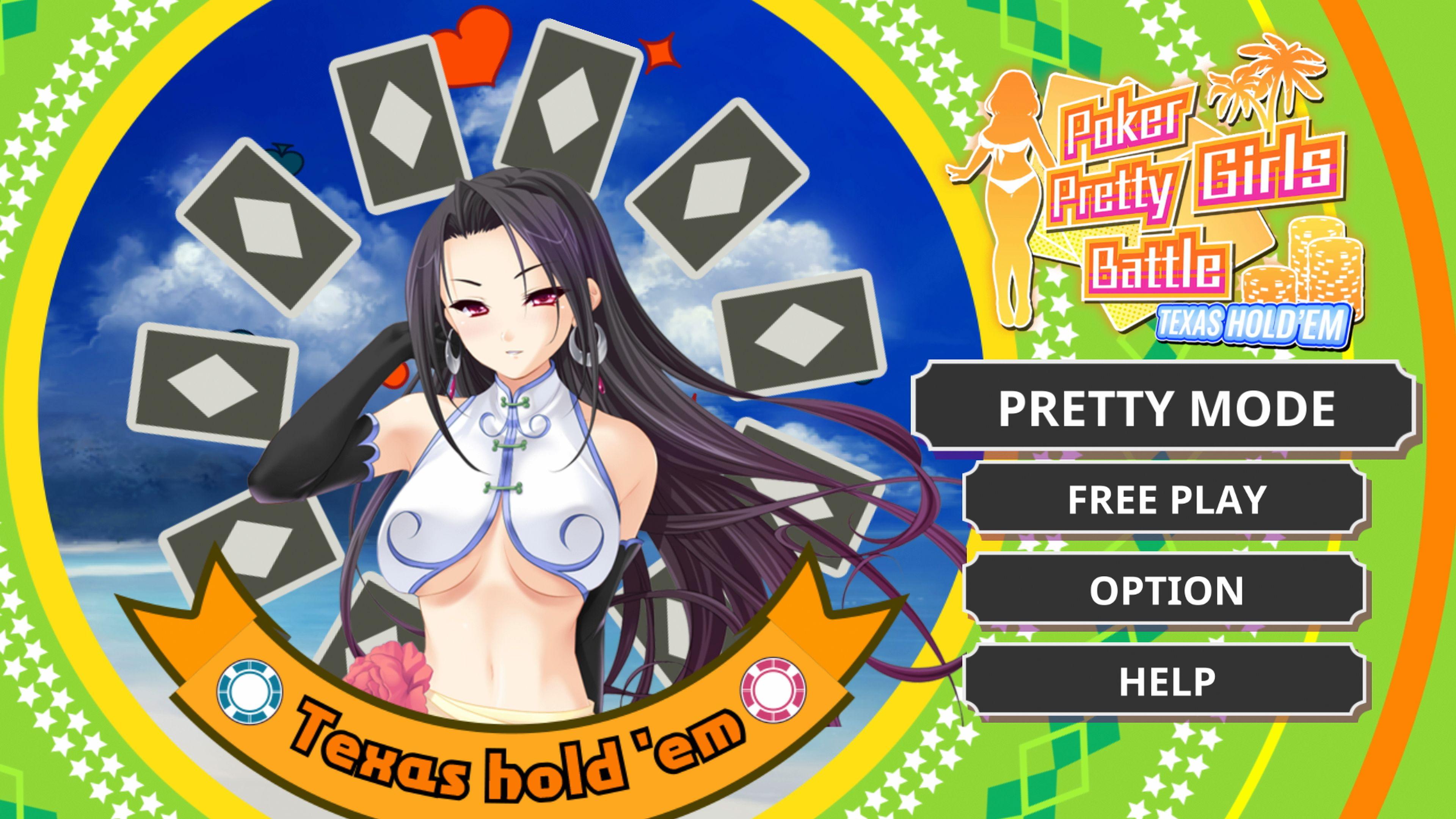 Скриншот №1 к Poker Pretty Girls Battle Texas Holdem PS4 and PS5