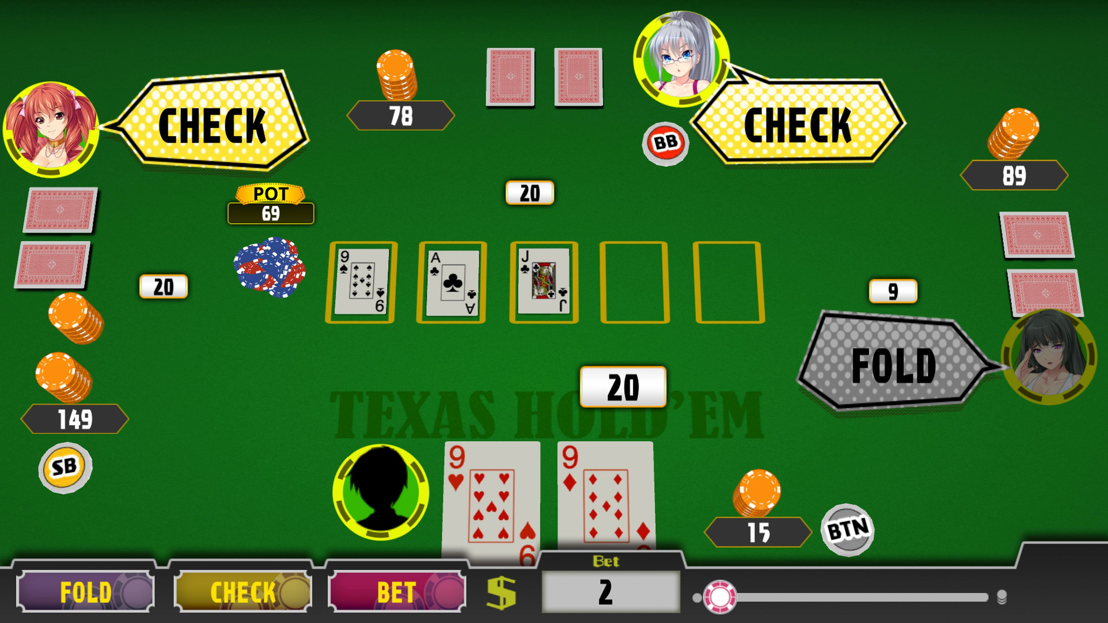 Скриншот №2 к Poker Pretty Girls Battle Texas Holdem PS4 and PS5