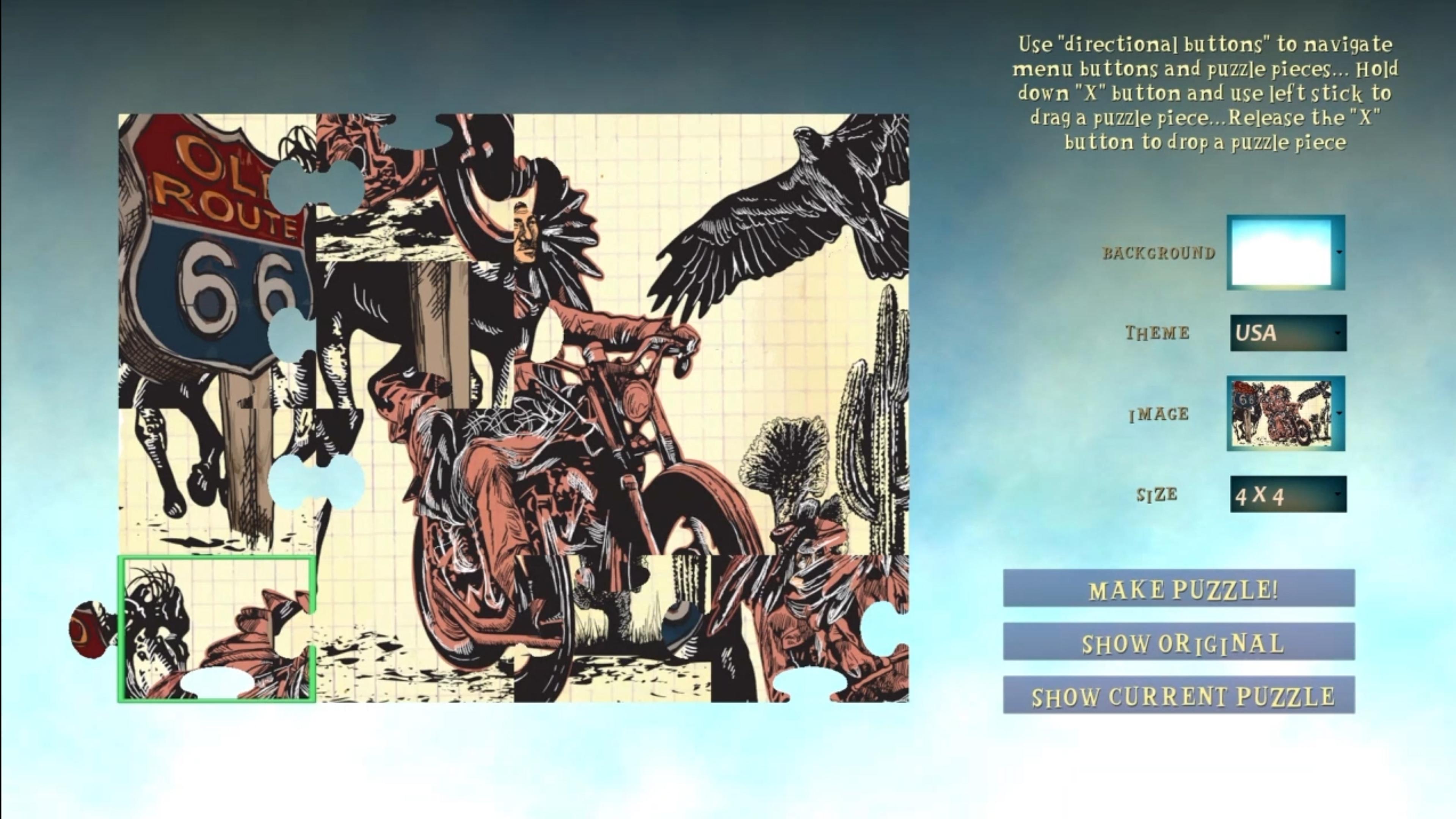 Скриншот №2 к Jigsaw Finale
