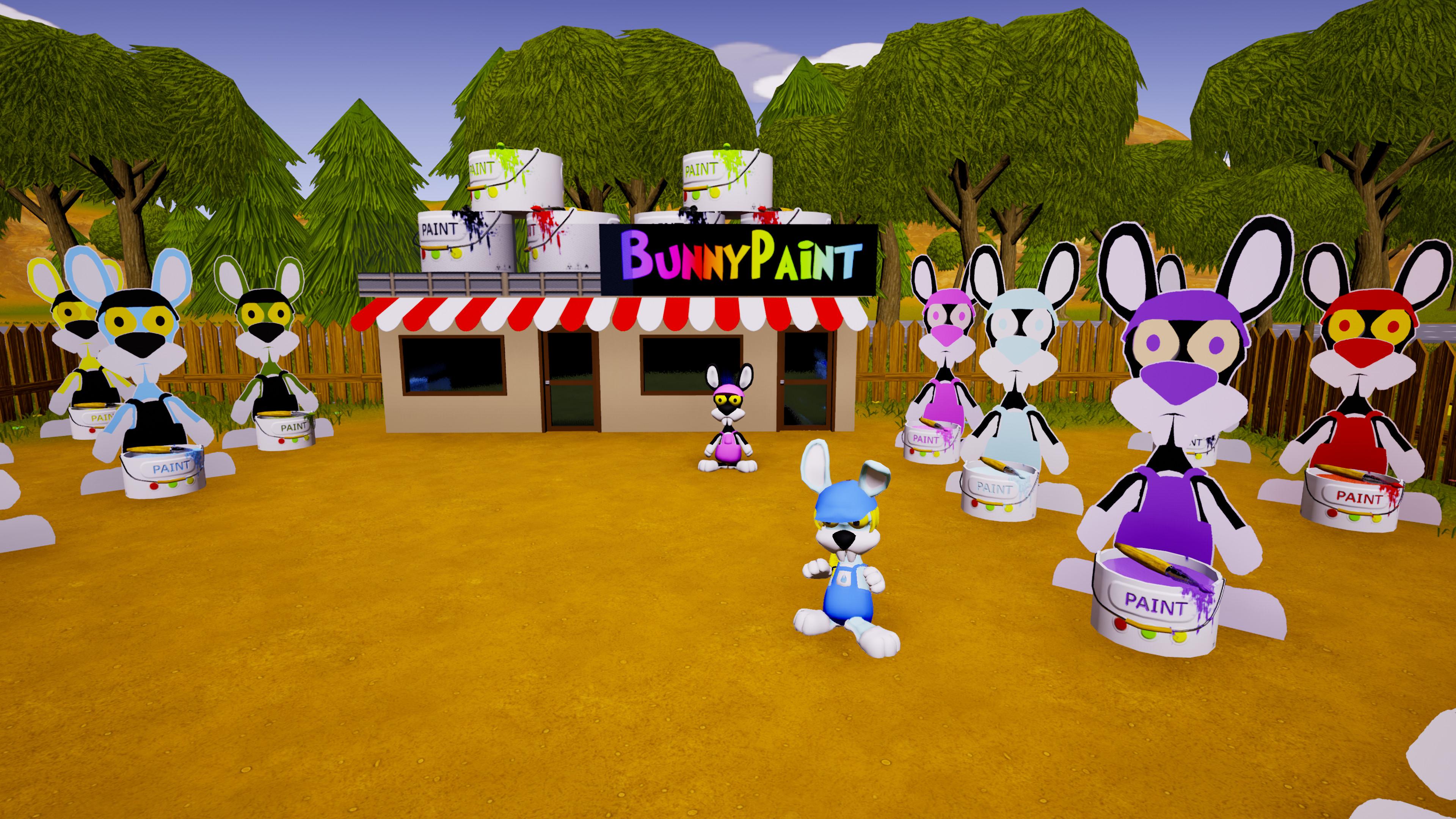 Скриншот №1 к SokoBunny