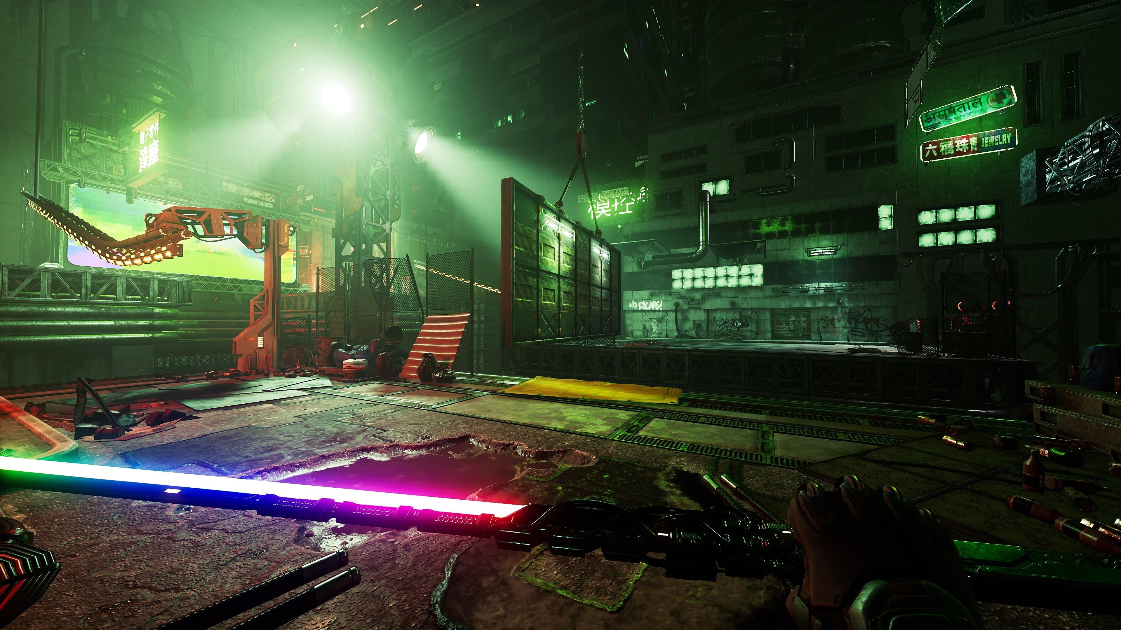 Скриншот №9 к Ghostrunner
