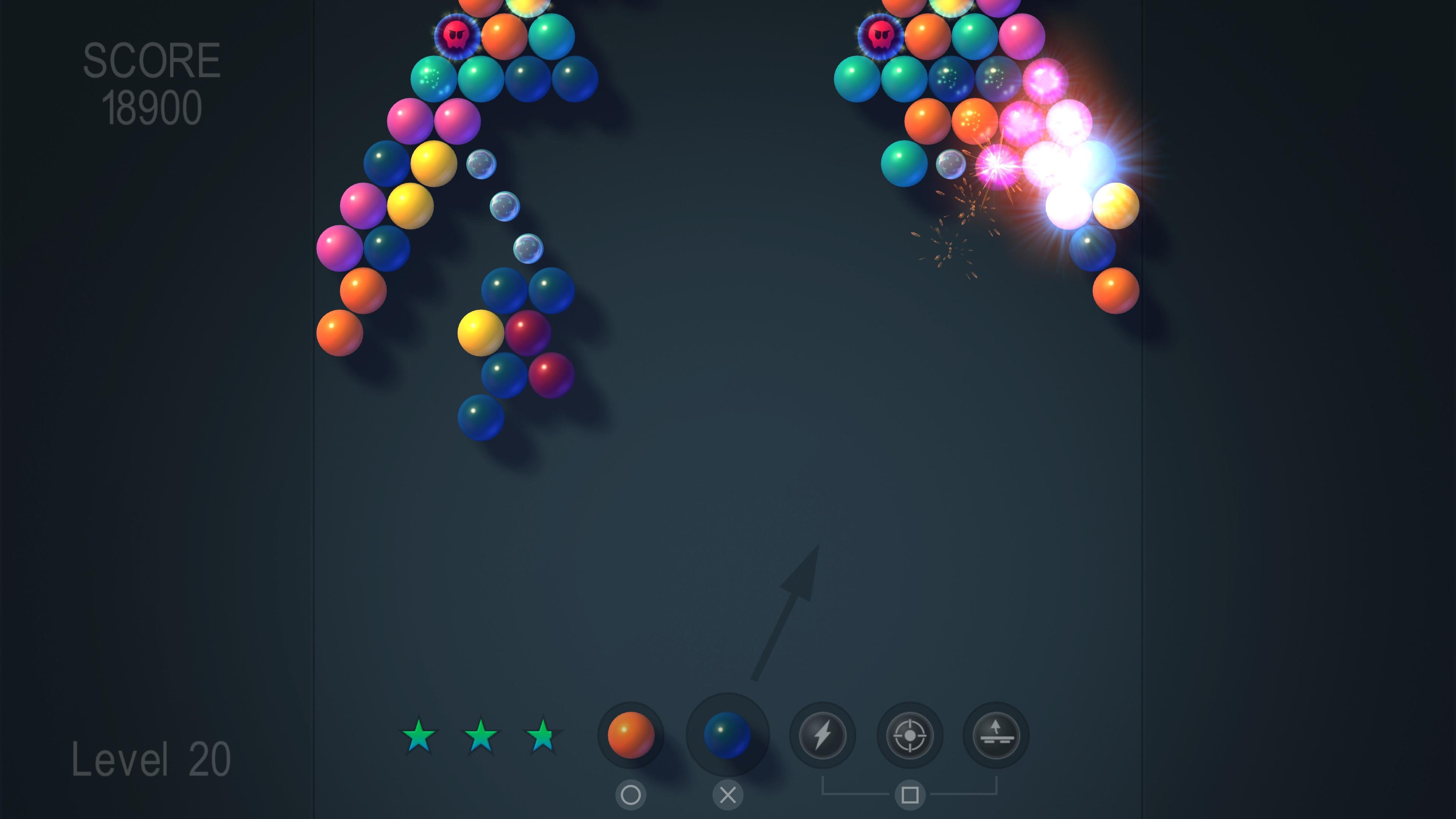Скриншот №5 к Bubble Shooter FX
