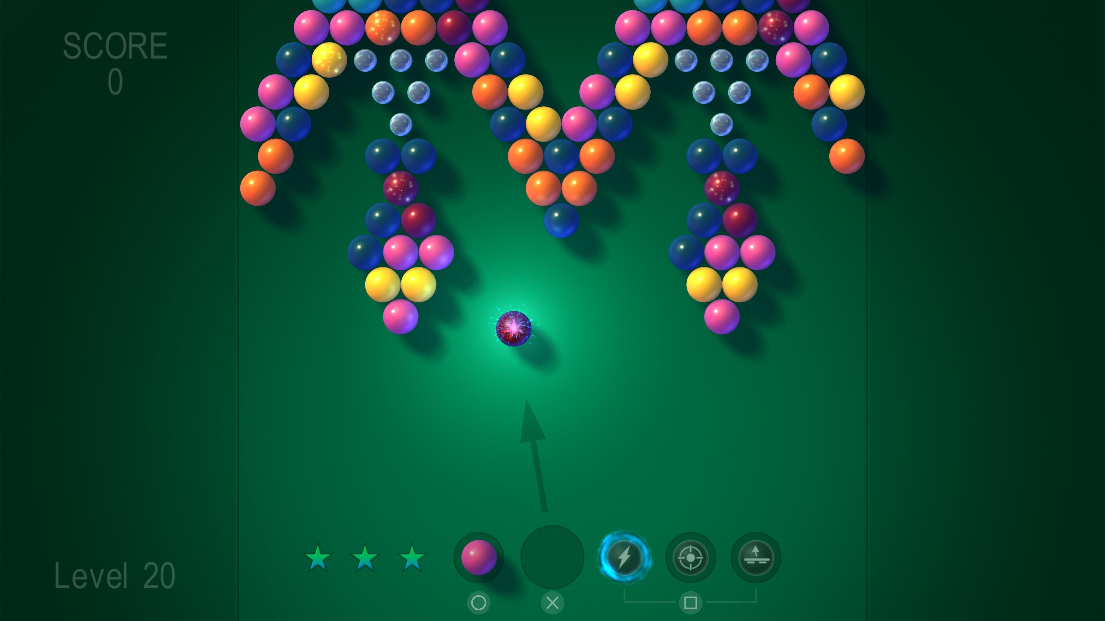 Скриншот №4 к Bubble Shooter FX