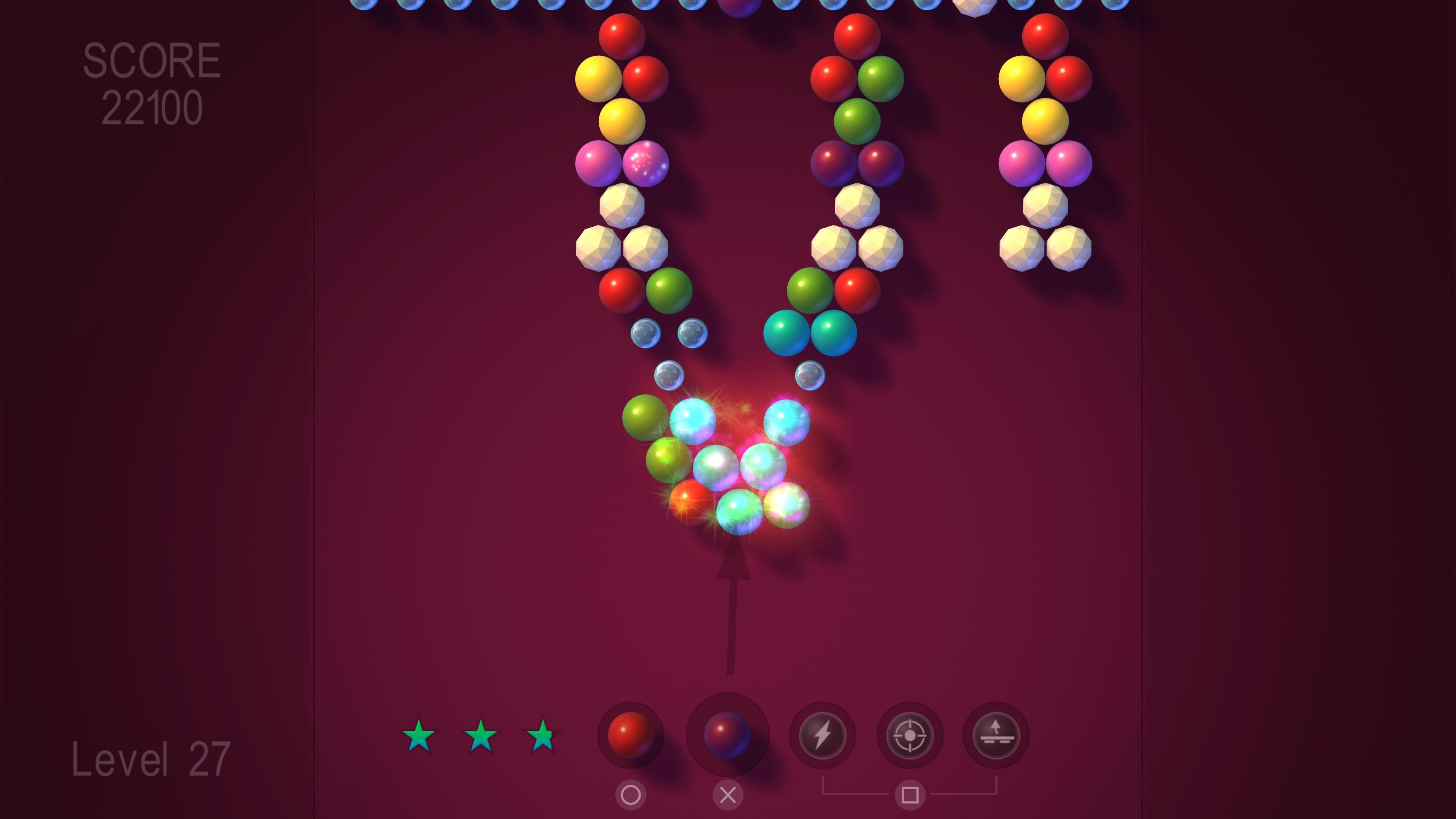 Скриншот №2 к Bubble Shooter FX