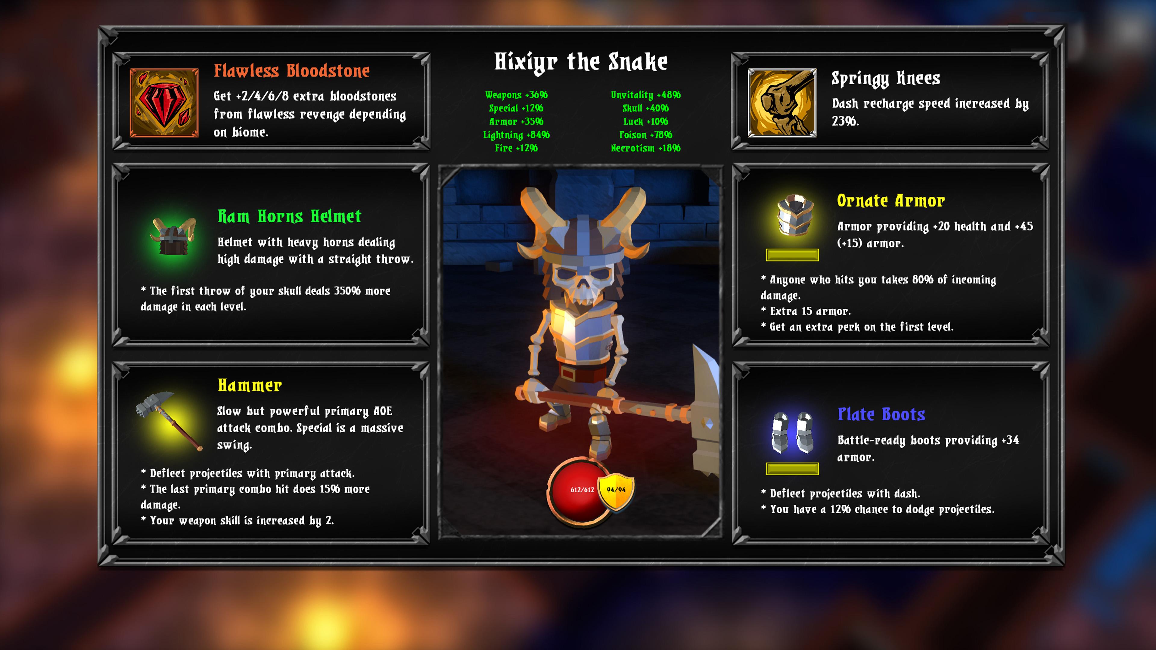 Скриншот №4 к Skeletal Avenger
