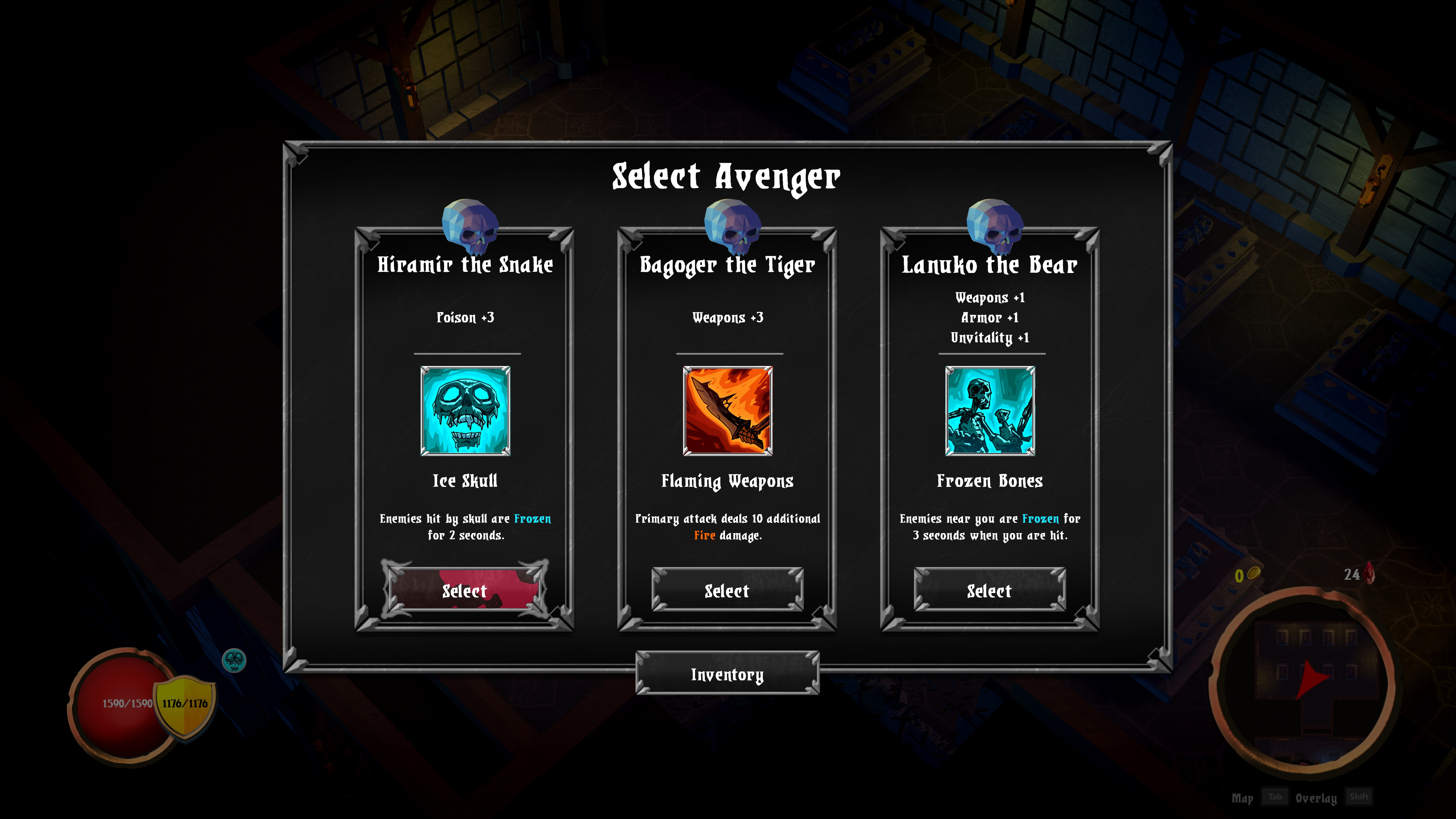 Скриншот №5 к Skeletal Avenger
