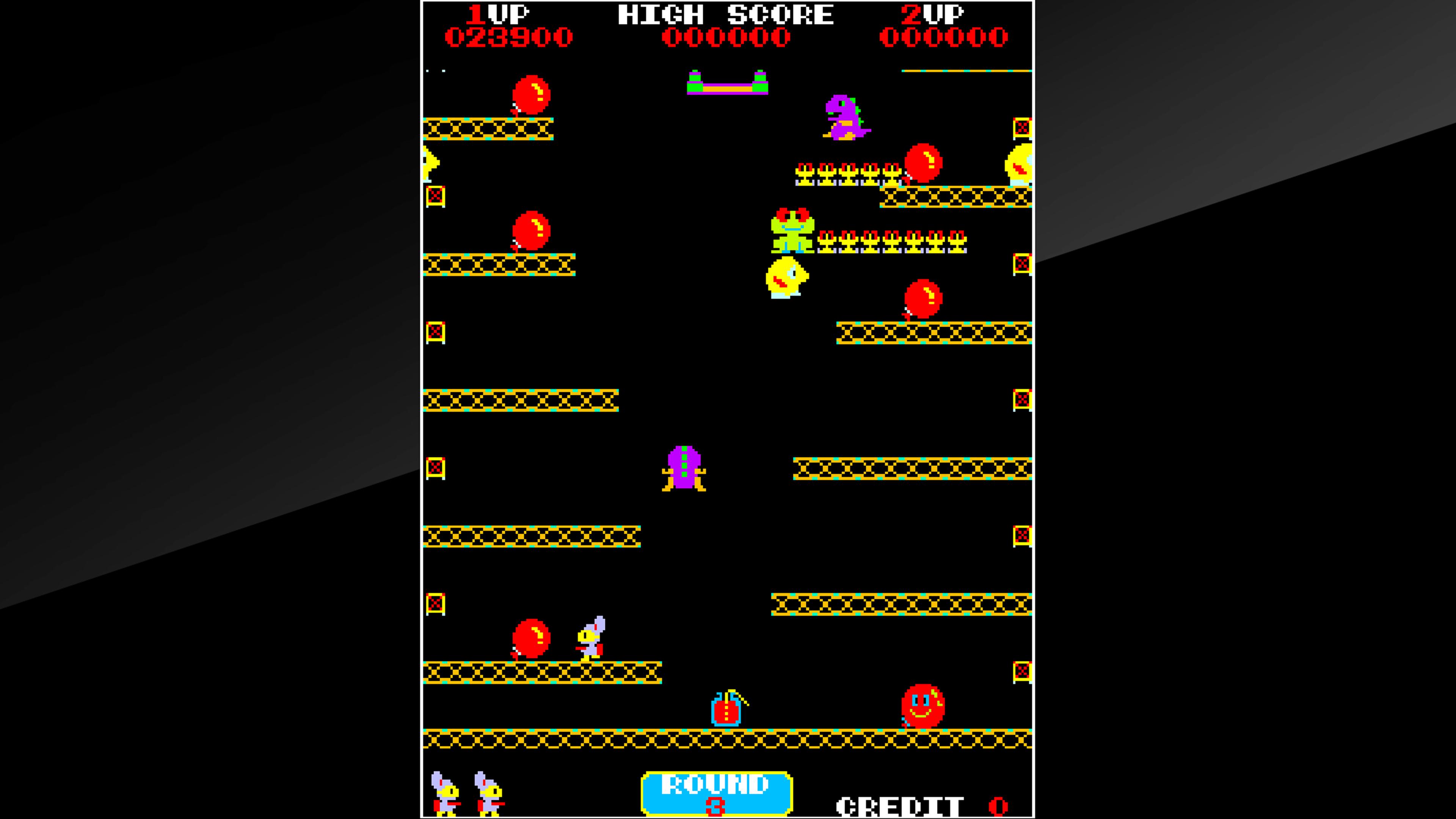 Скриншот №7 к Arcade Archives POP FLAMER