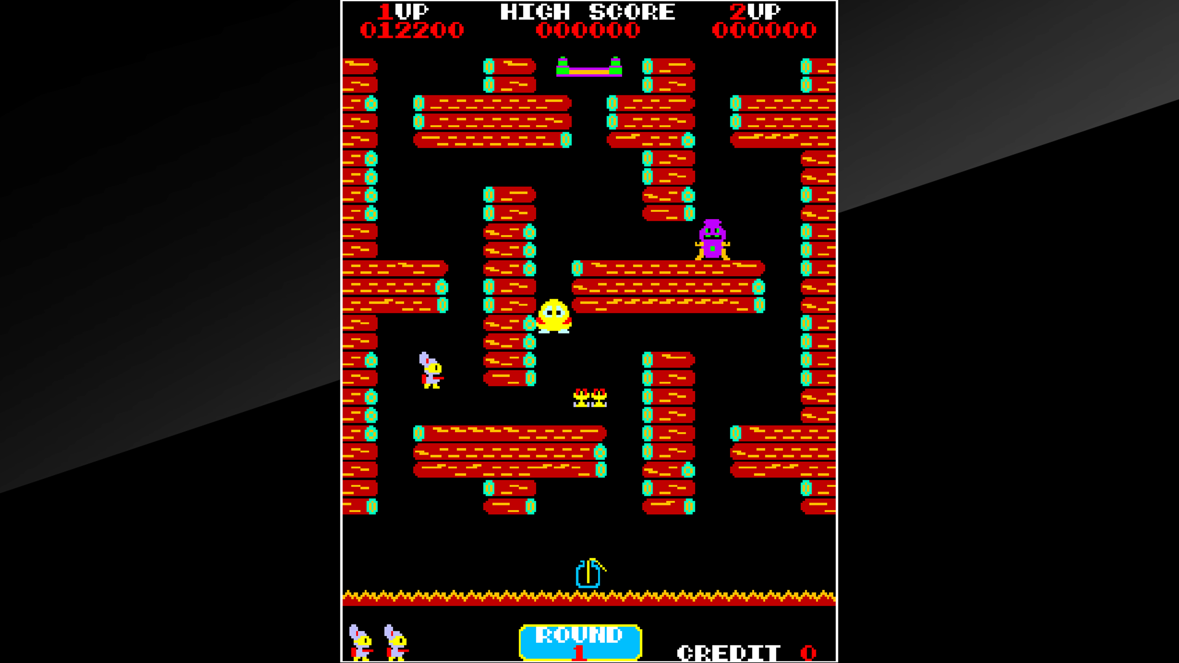Скриншот №4 к Arcade Archives POP FLAMER