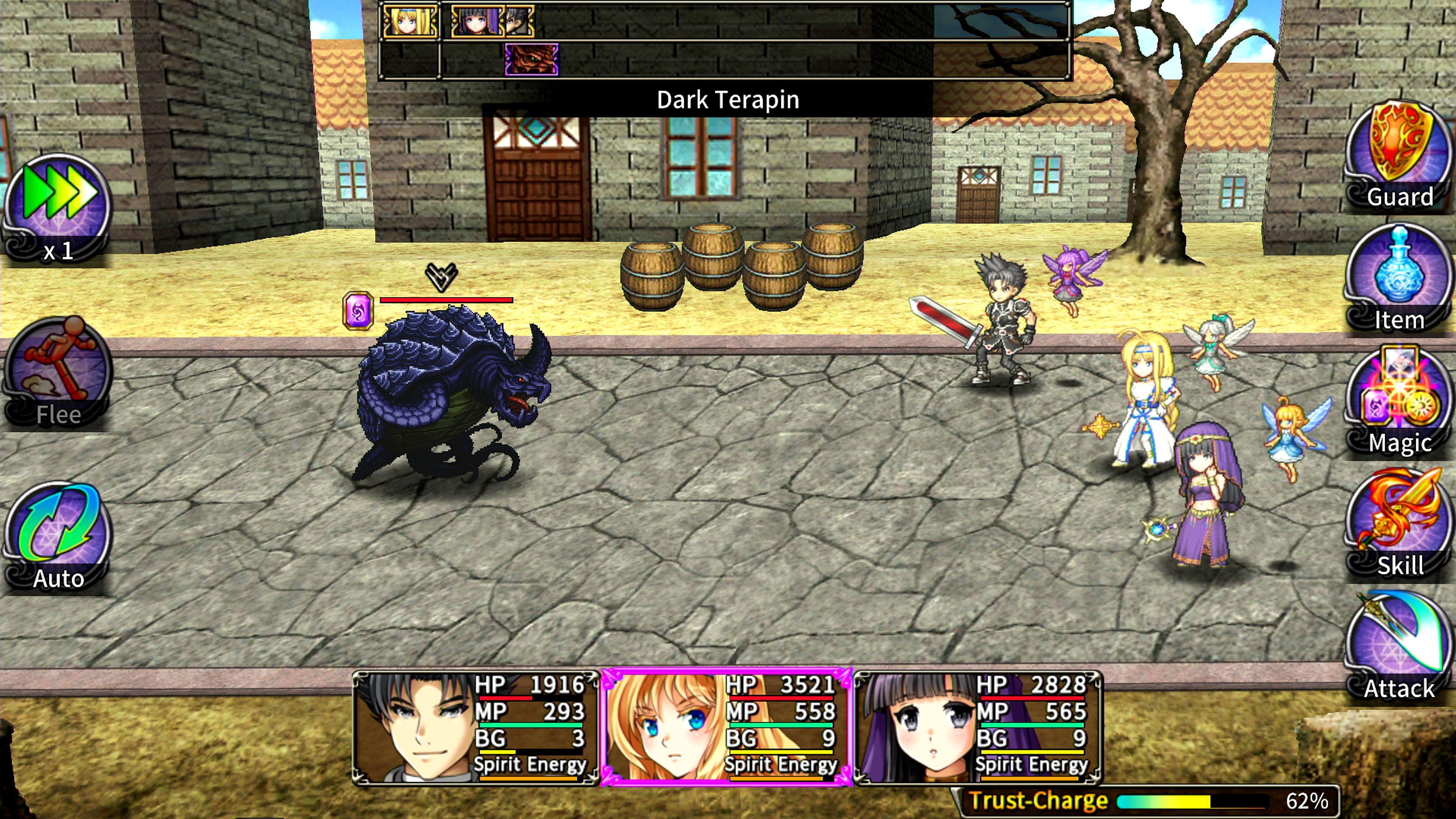 Скриншот №3 к Asdivine Saga