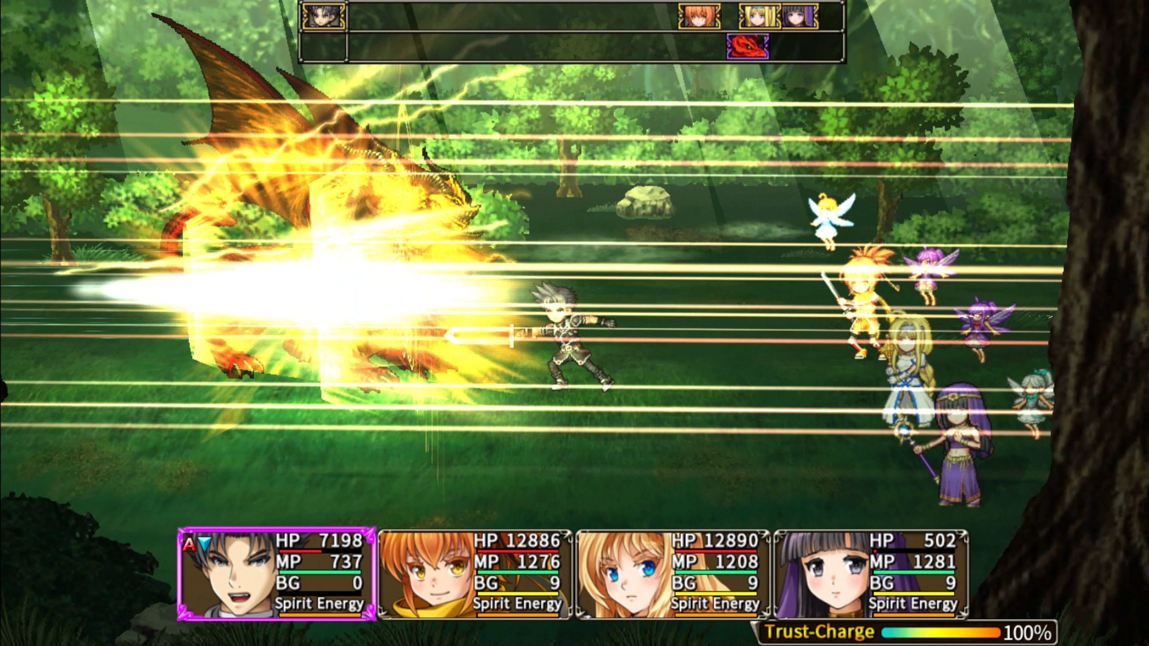Скриншот №2 к Asdivine Saga