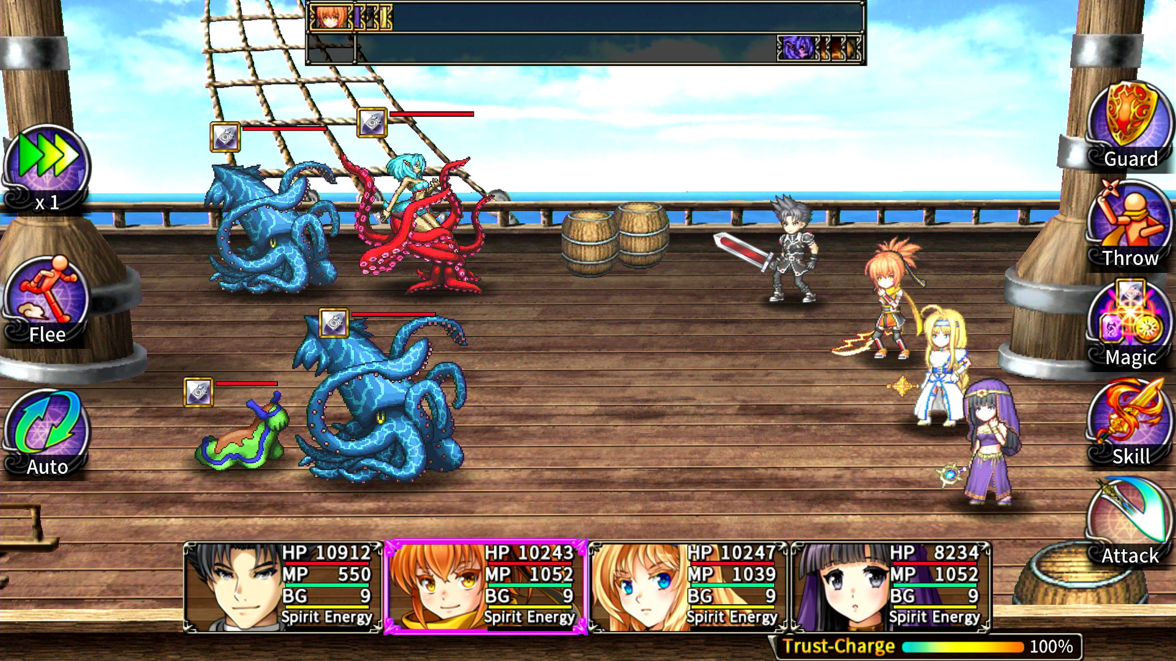 Скриншот №4 к Asdivine Saga