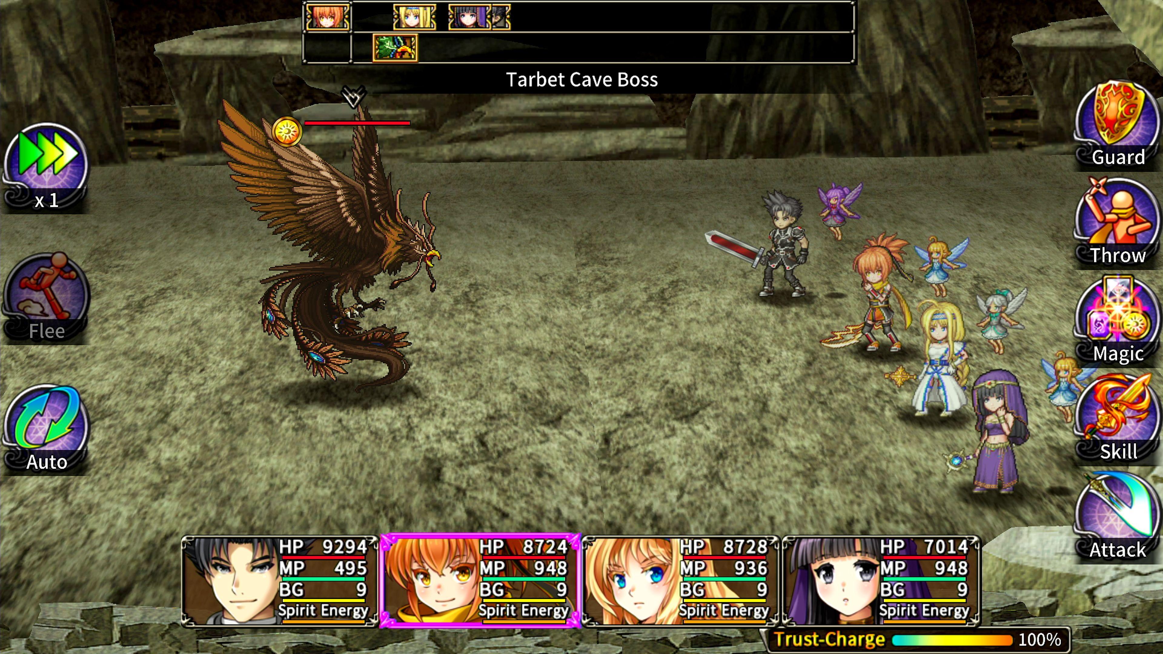 Скриншот №8 к Asdivine Saga