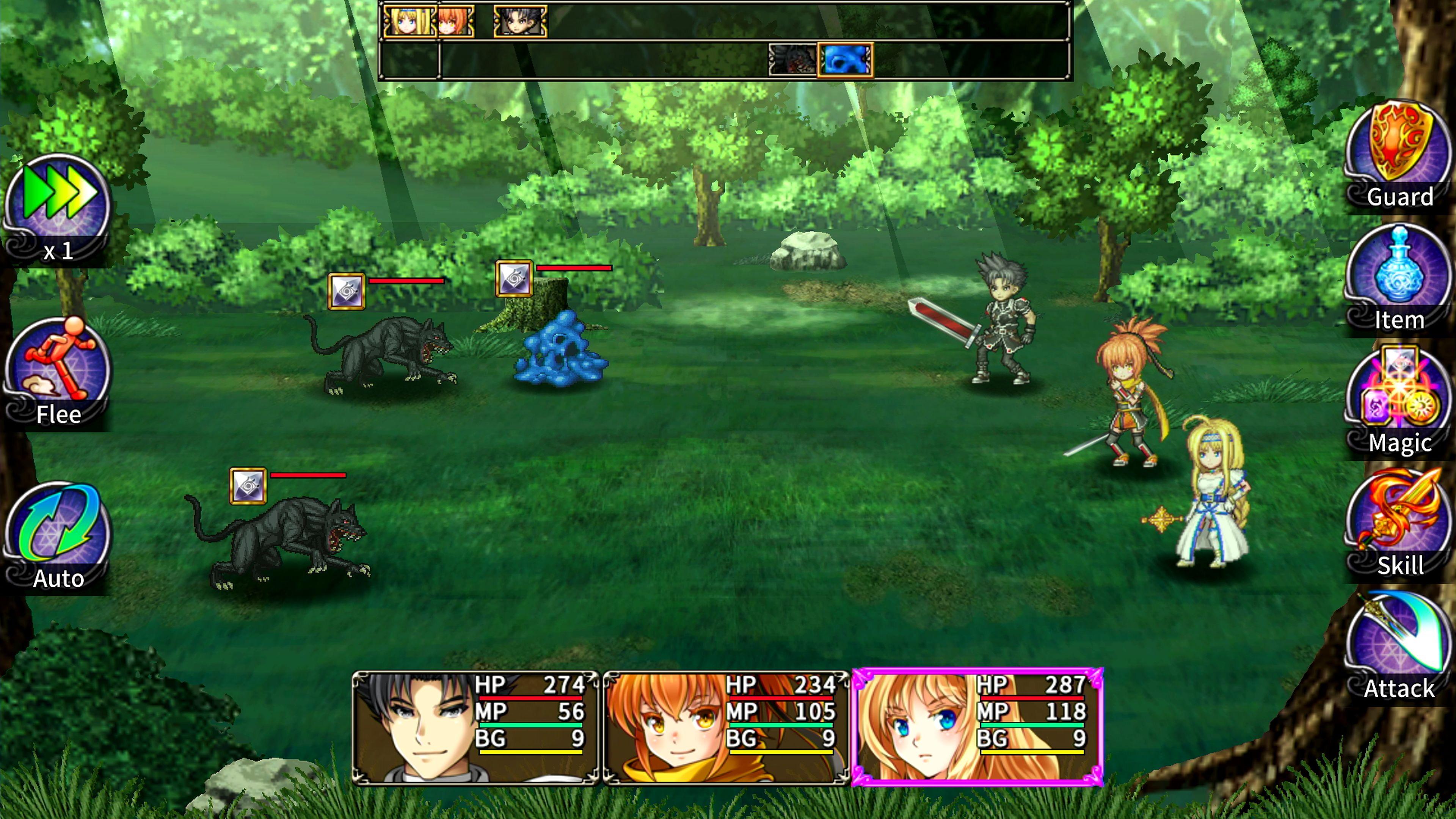 Скриншот №5 к Asdivine Saga