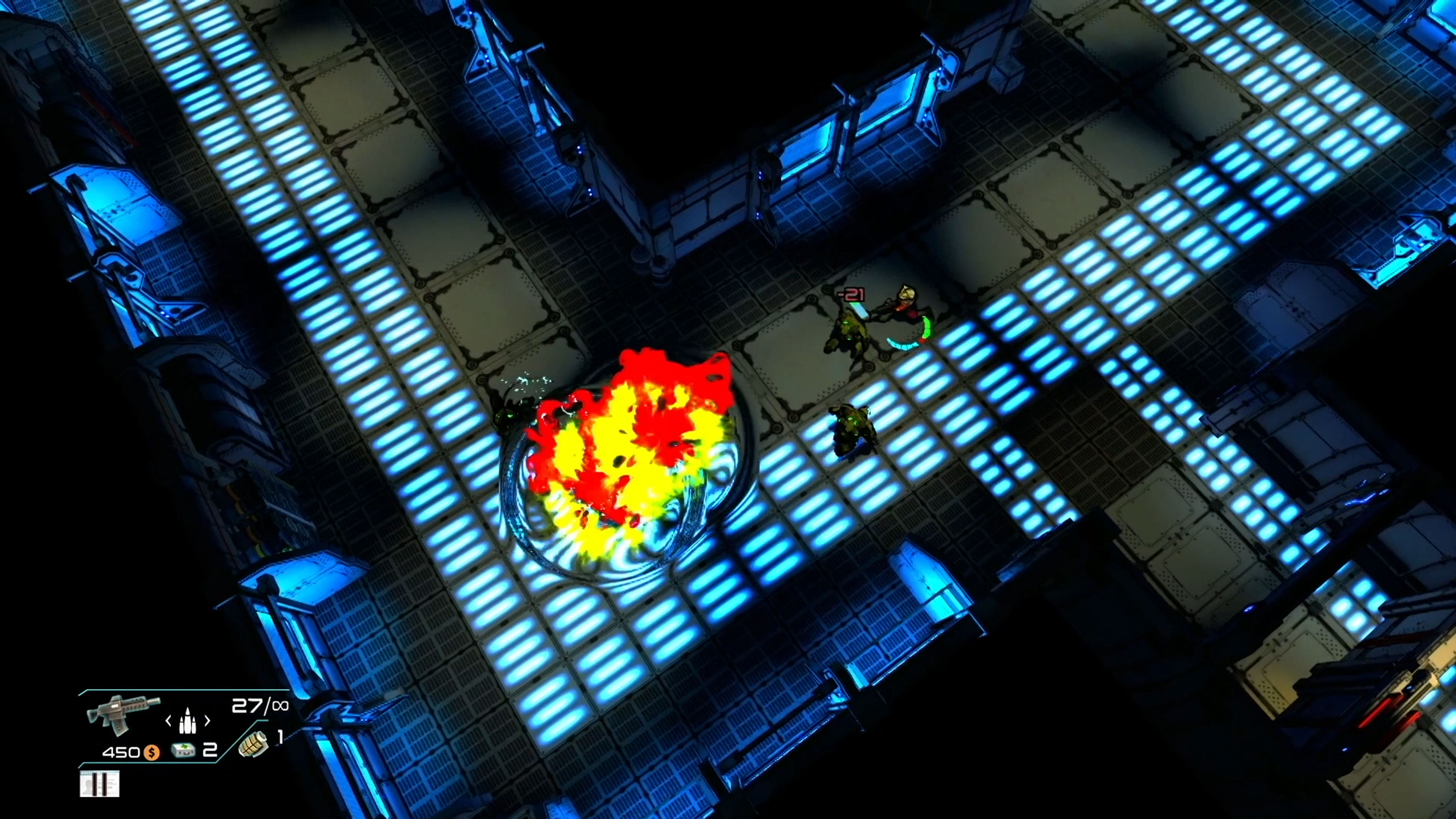 Скриншот №2 к Space Revenge