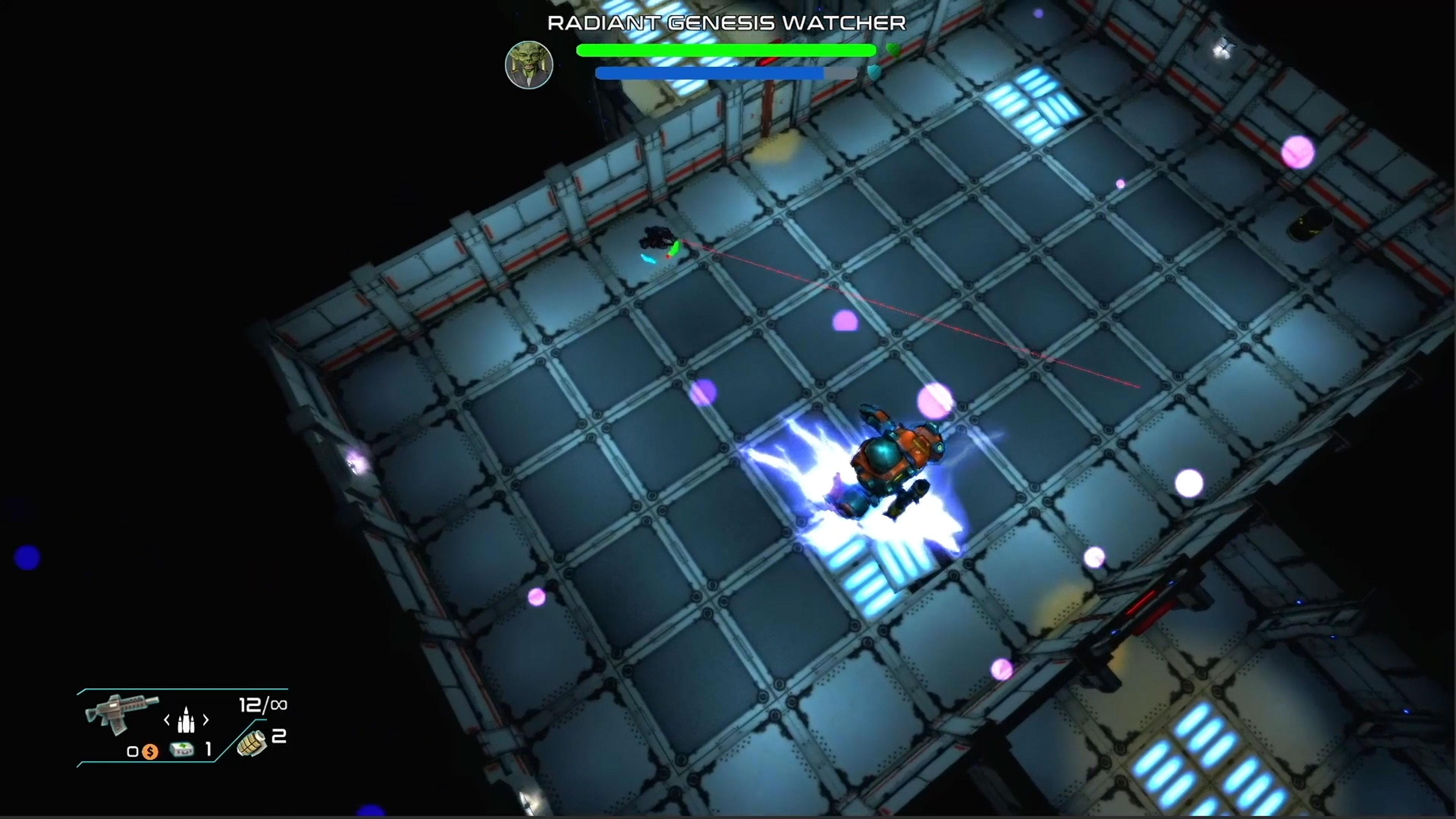 Скриншот №5 к Space Revenge
