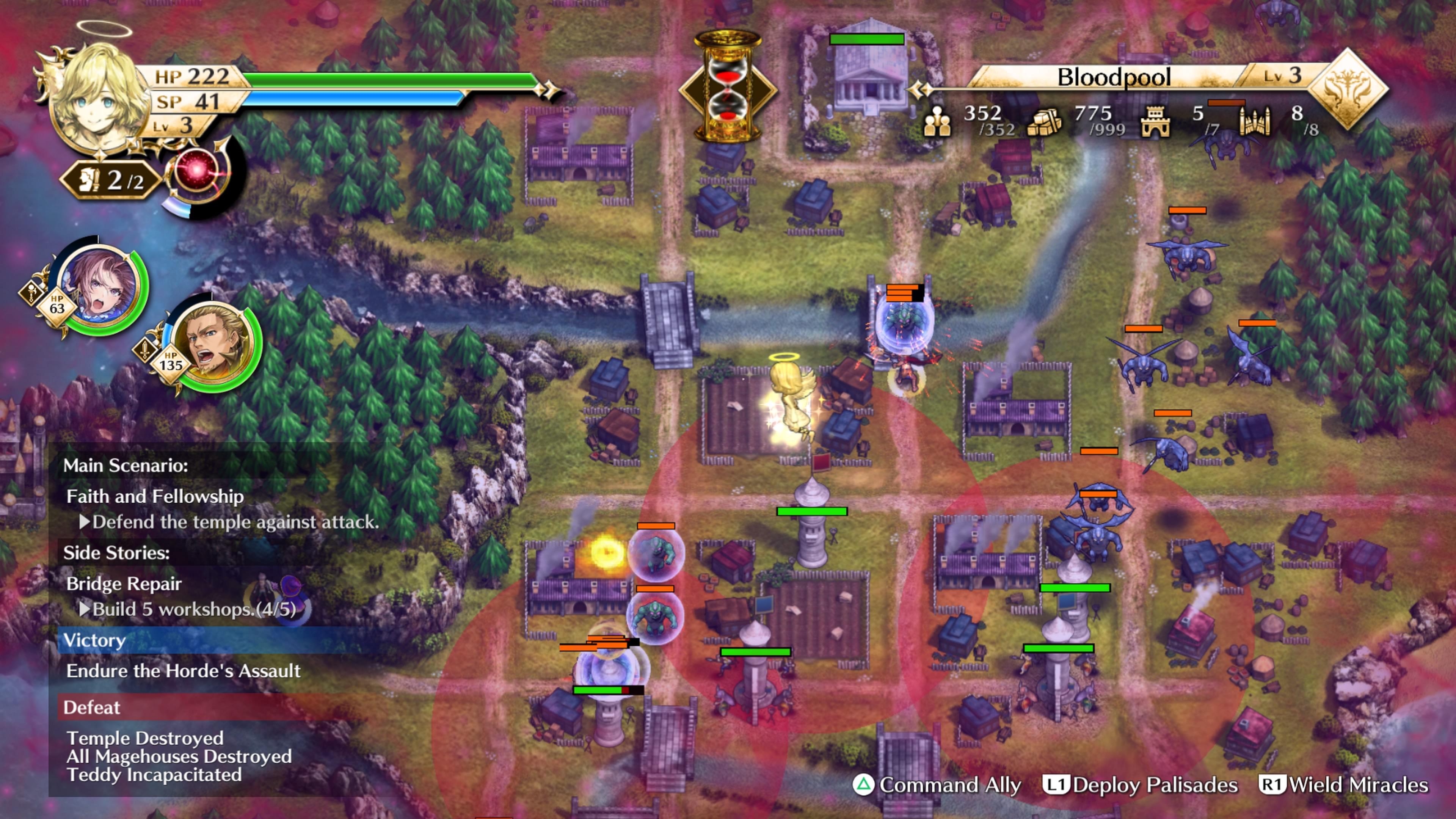 Скриншот №5 к Actraiser Renaissance