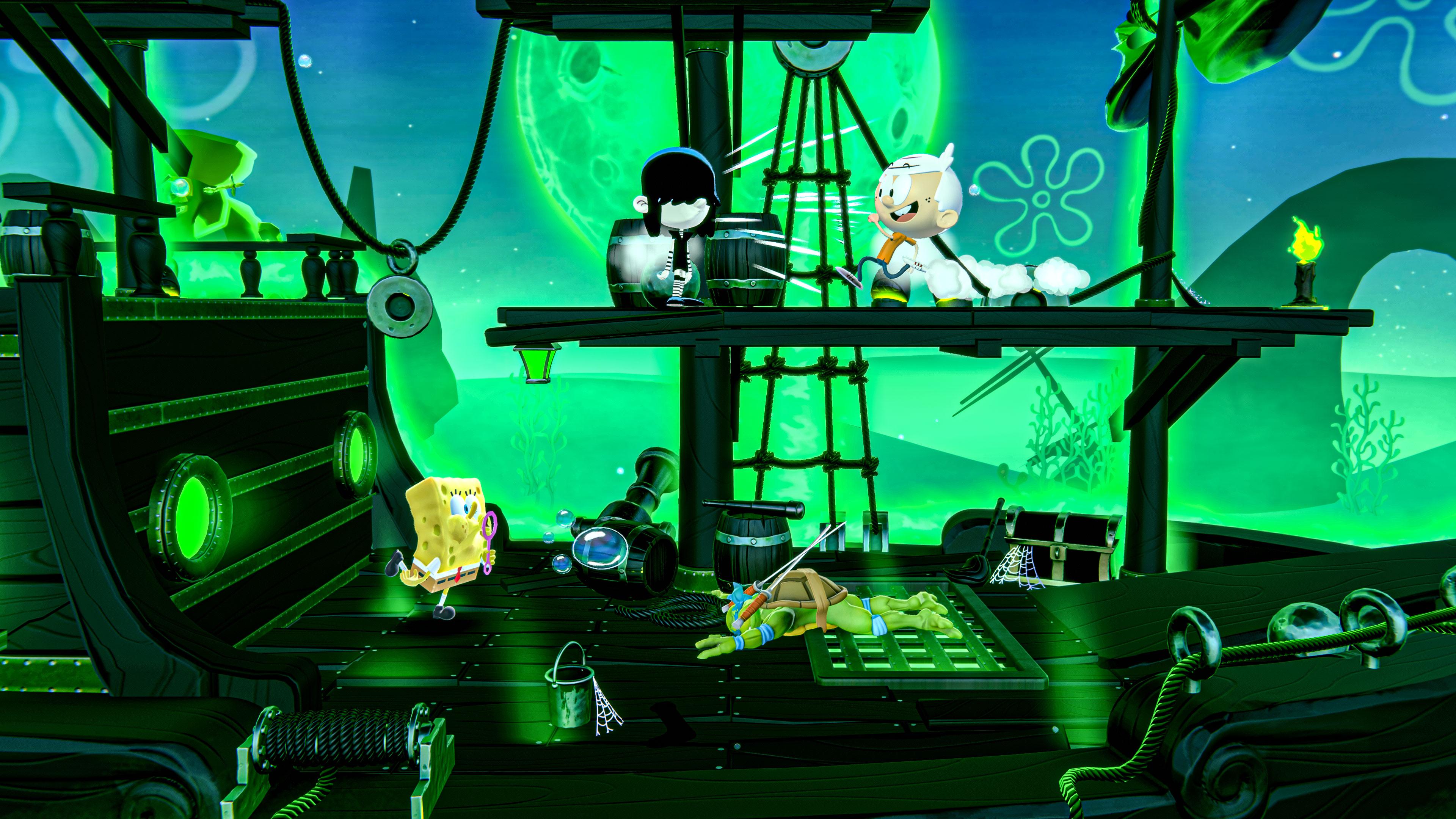 Скриншот №1 к Nickelodeon All-Star Brawl