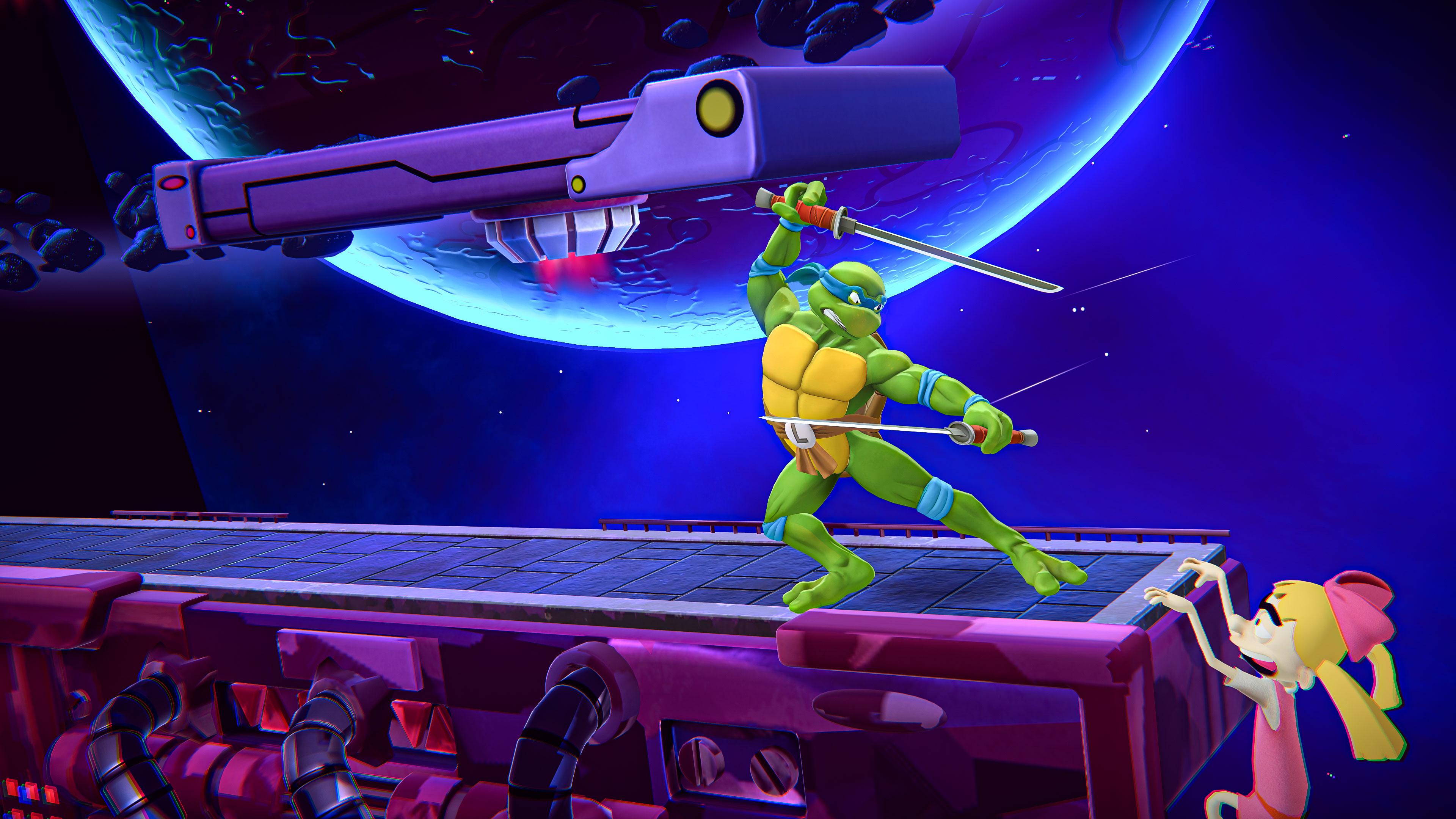 Скриншот №3 к Nickelodeon All-Star Brawl