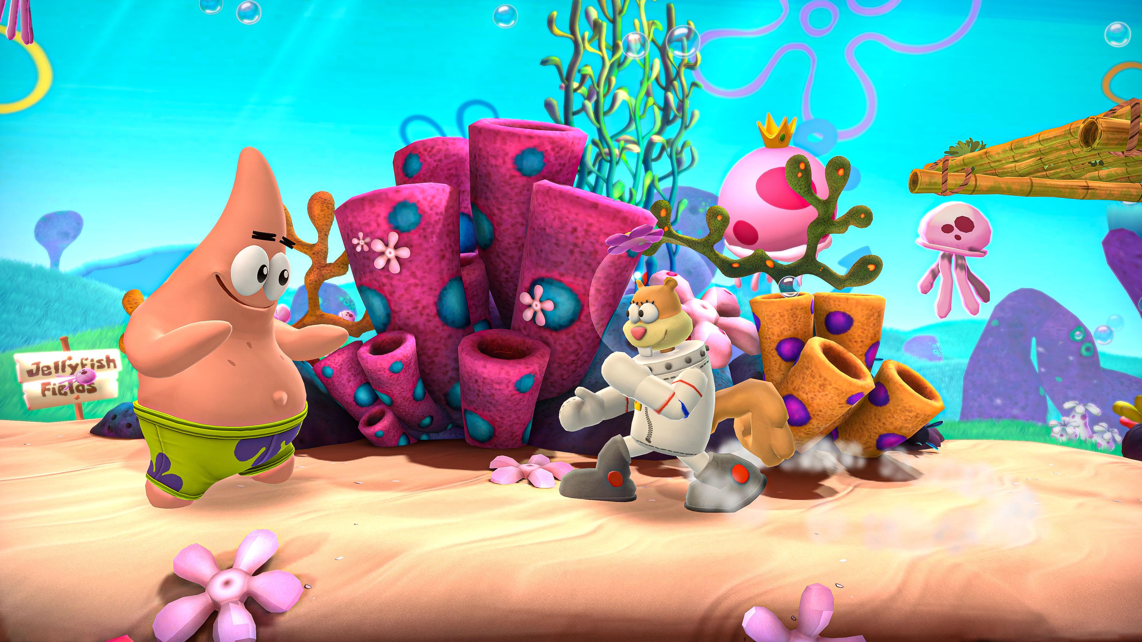 Скриншот №4 к Nickelodeon All-Star Brawl