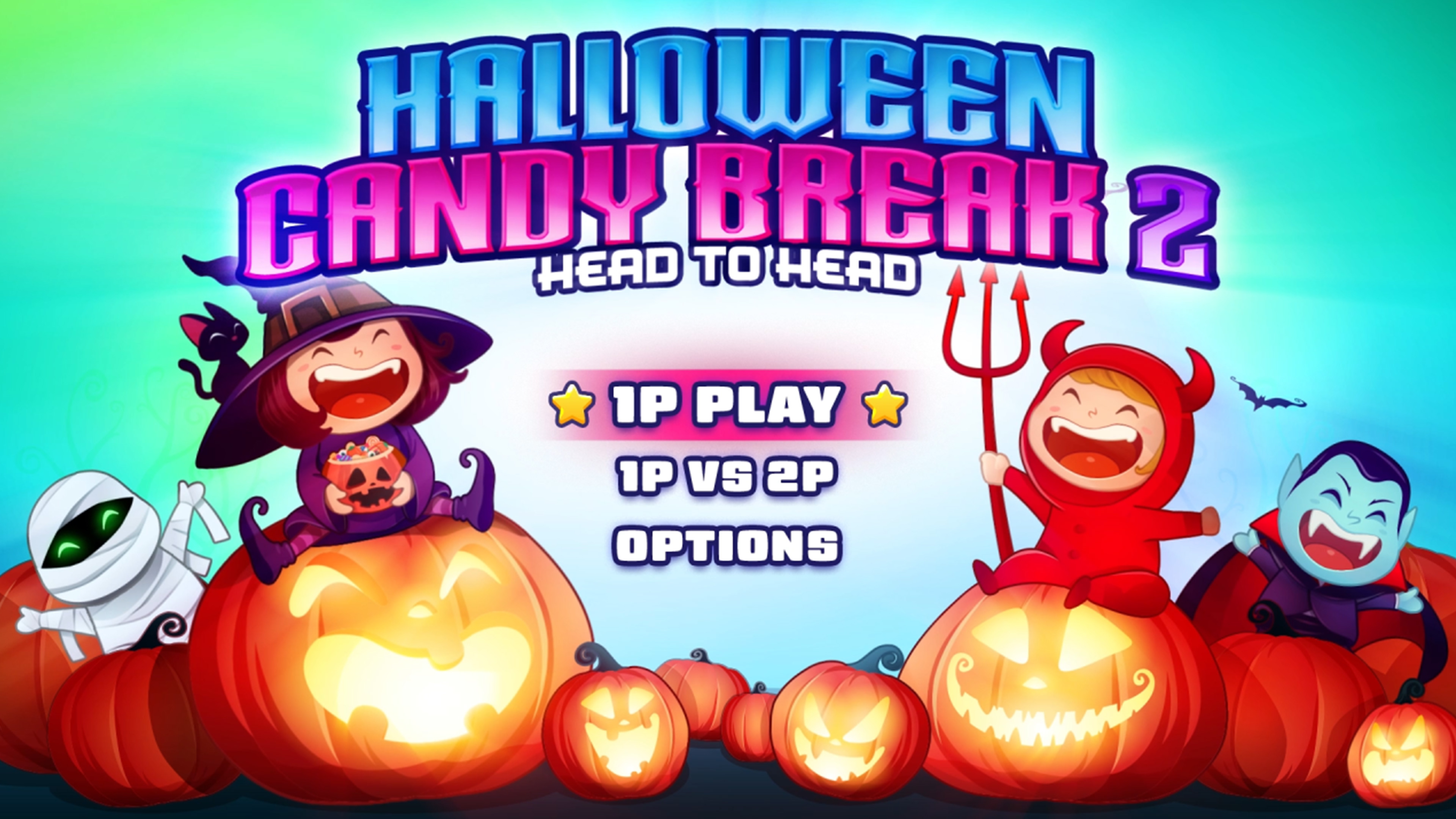 Скриншот №1 к Halloween Candy Break 2 Head to Head