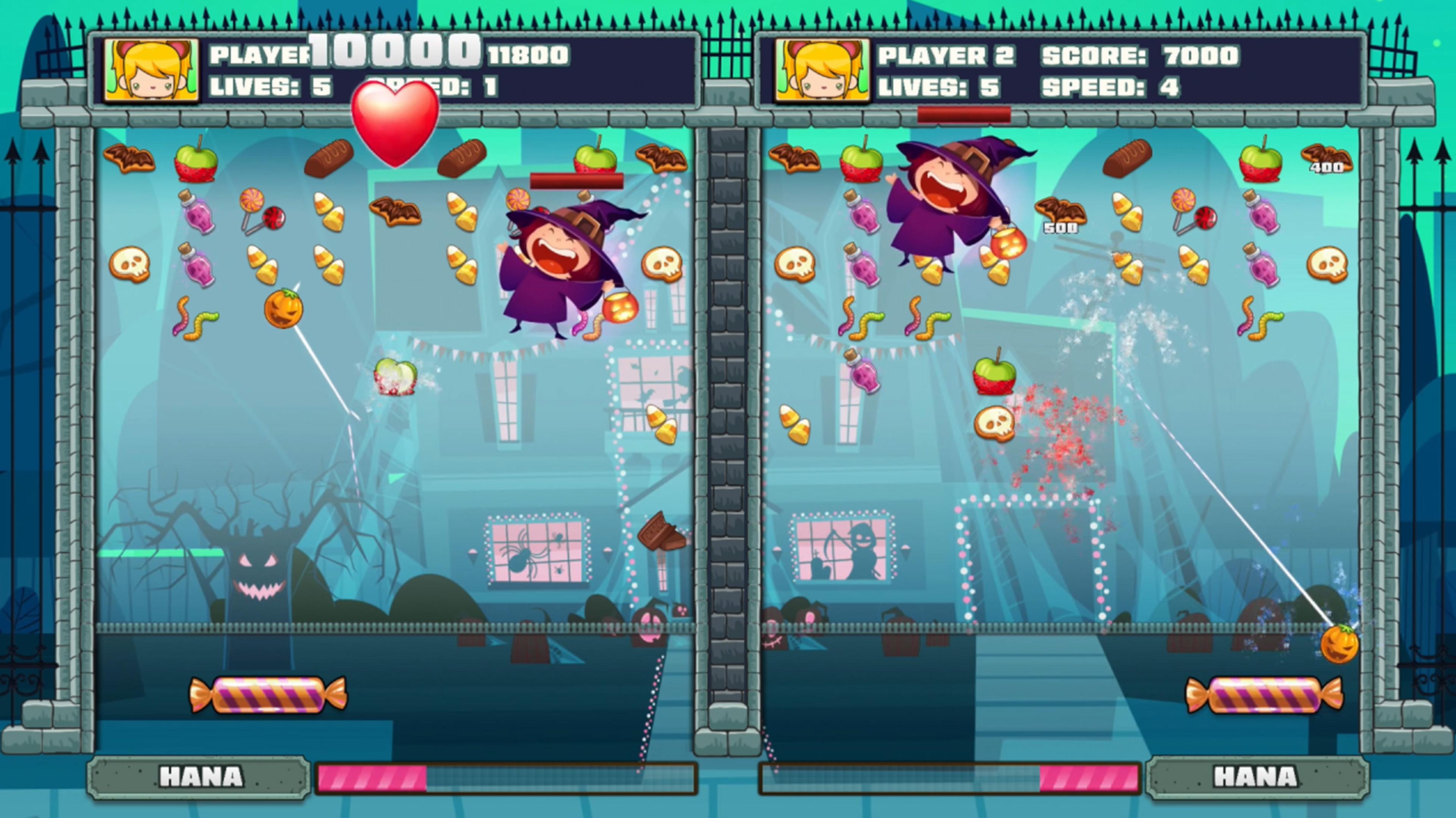 Скриншот №3 к Halloween Candy Break 2 Head to Head