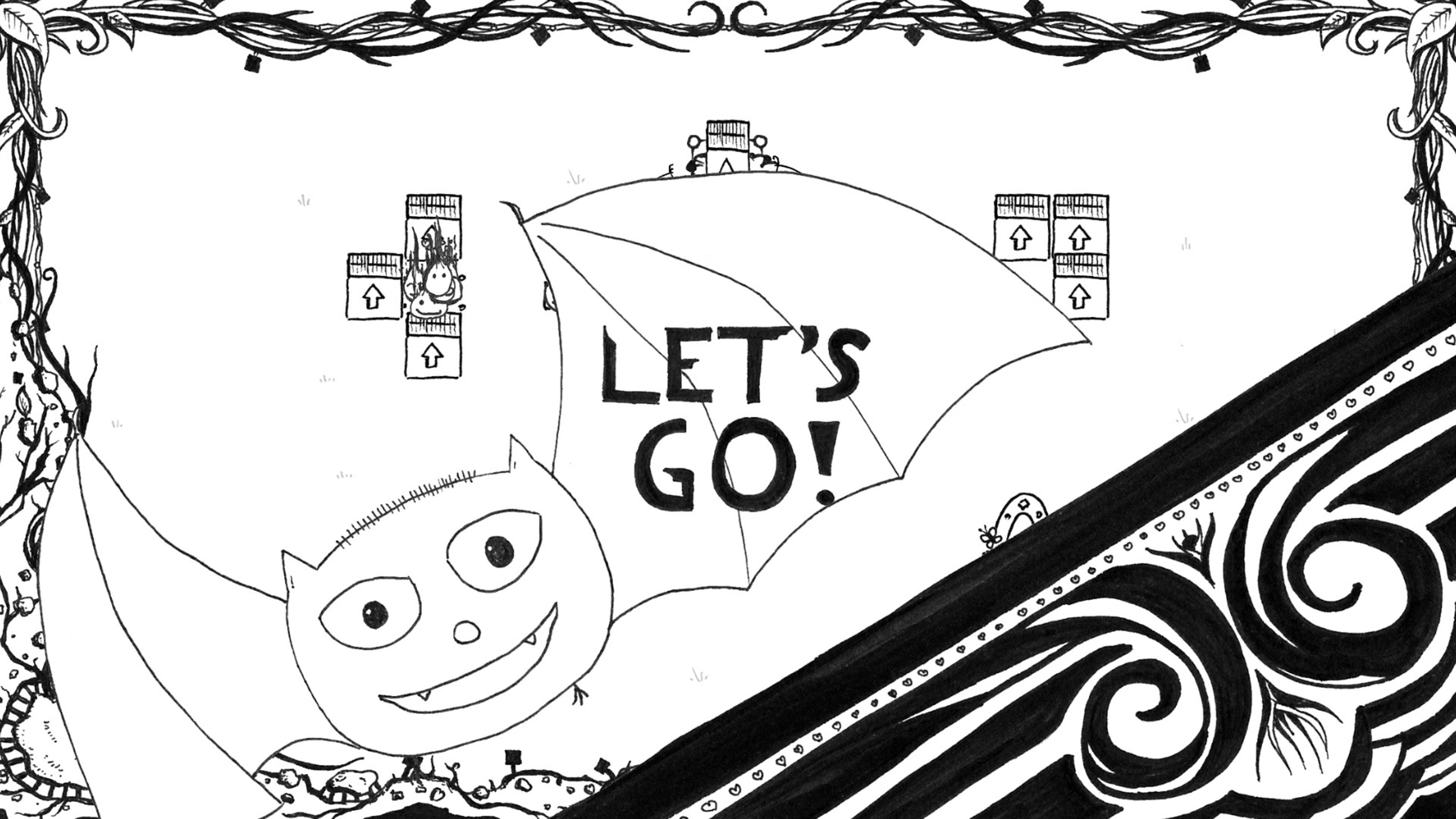 Скриншот №1 к Catty and Batty The Spirit Guide