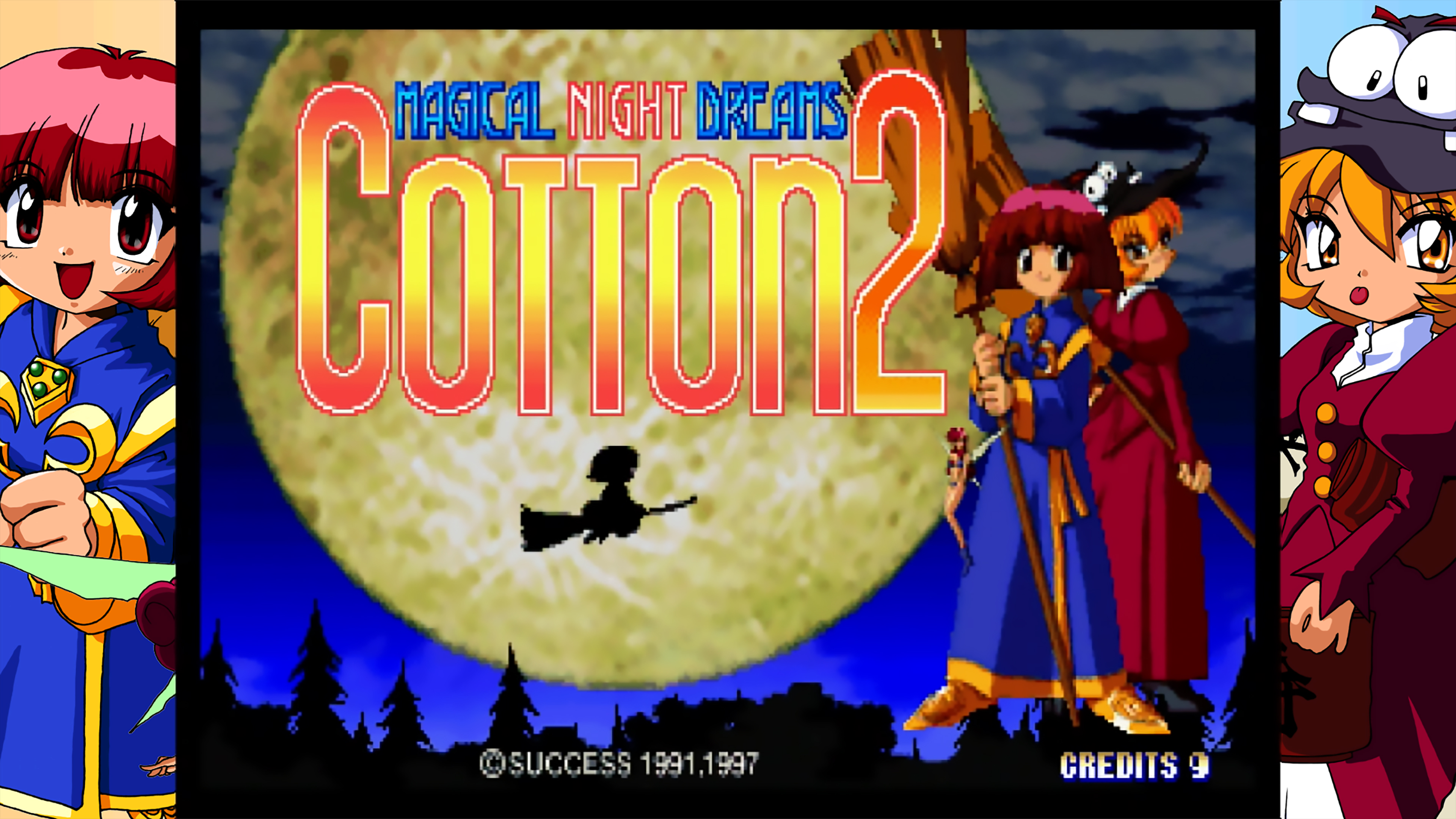 Скриншот №1 к Трибьют COTTOn 2 эпохи Saturn
