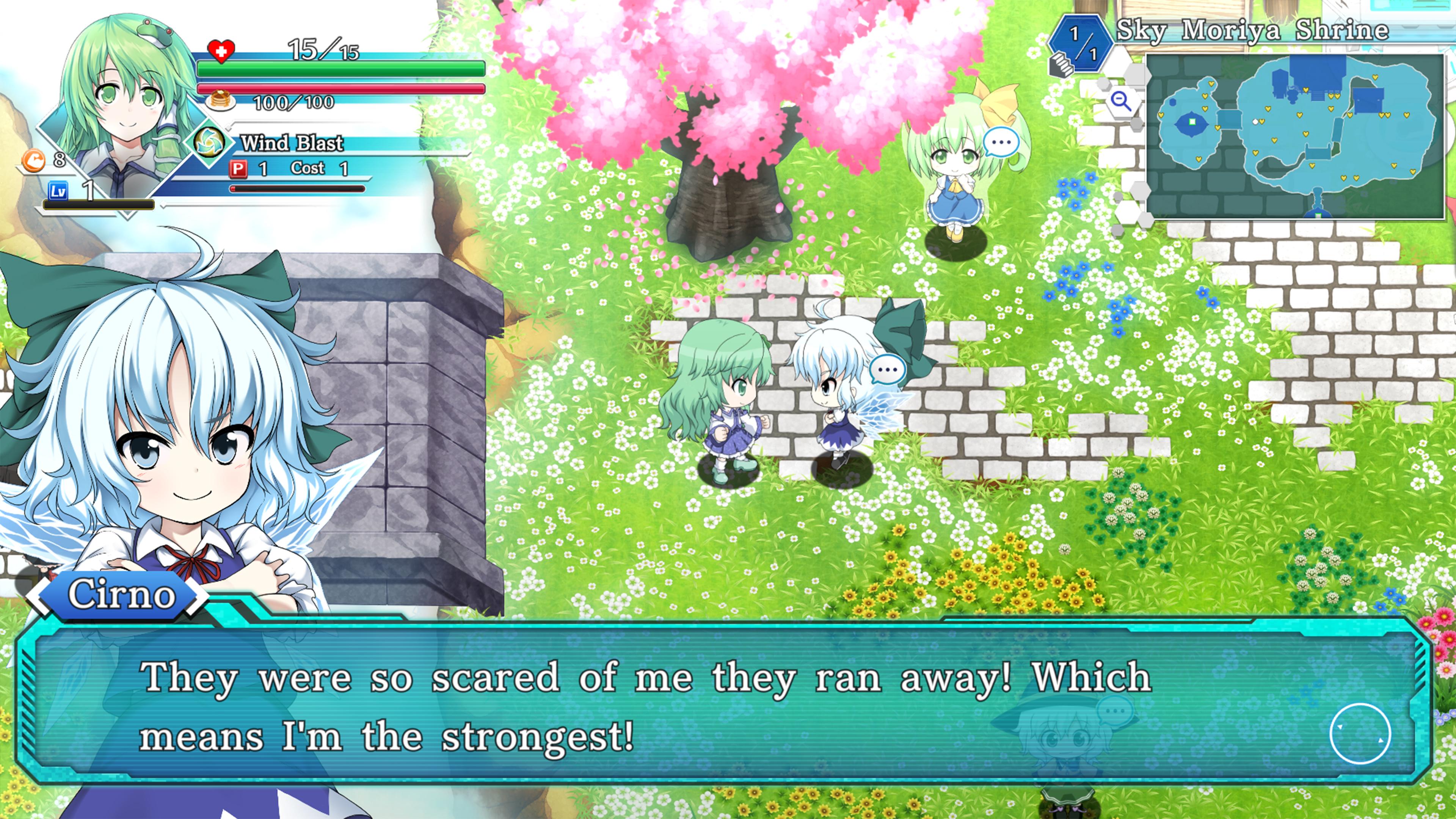 Скриншот №7 к Touhou Genso Wanderer -Lotus Labyrinth R-