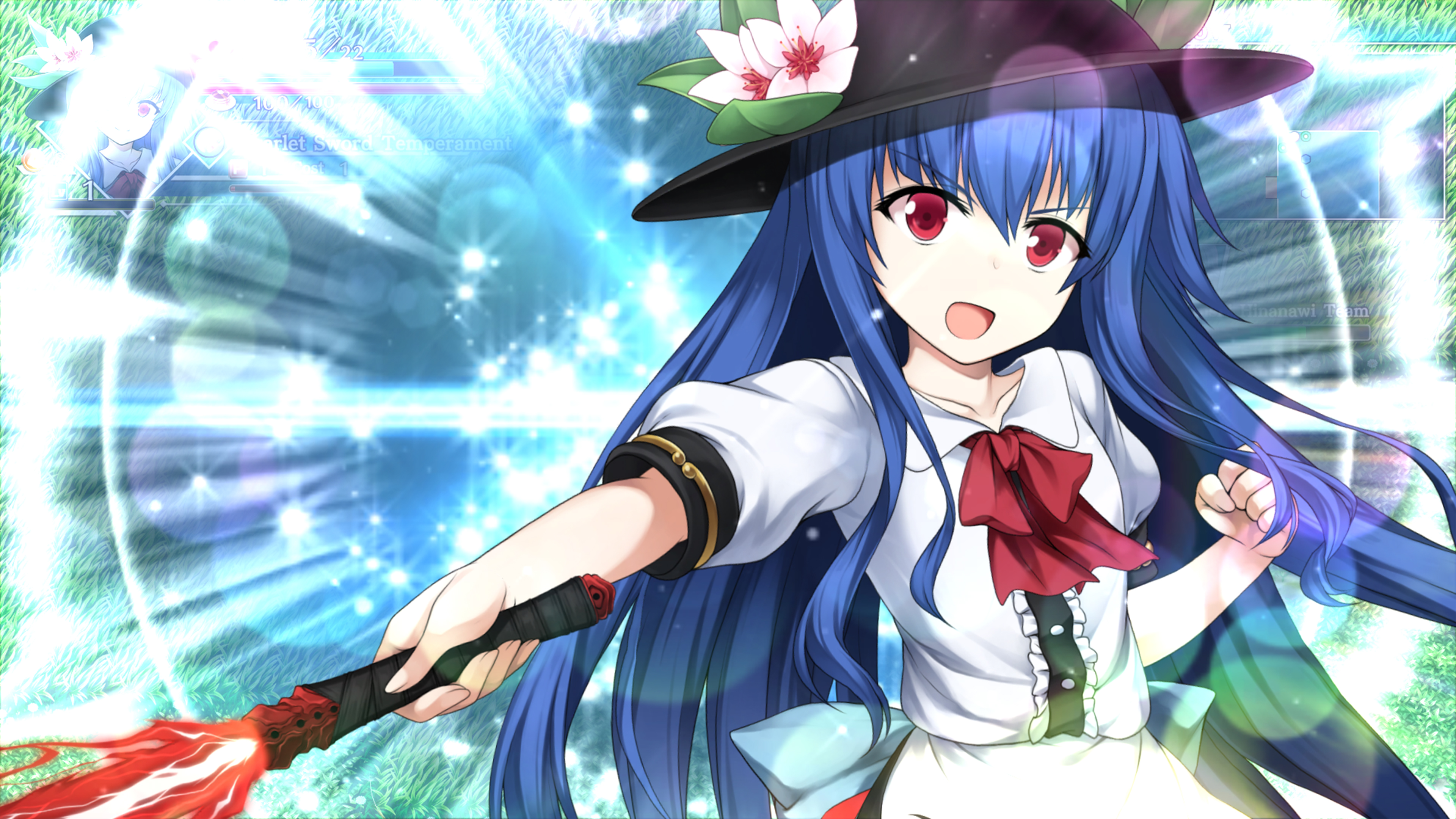 Скриншот №4 к Touhou Genso Wanderer -Lotus Labyrinth R-