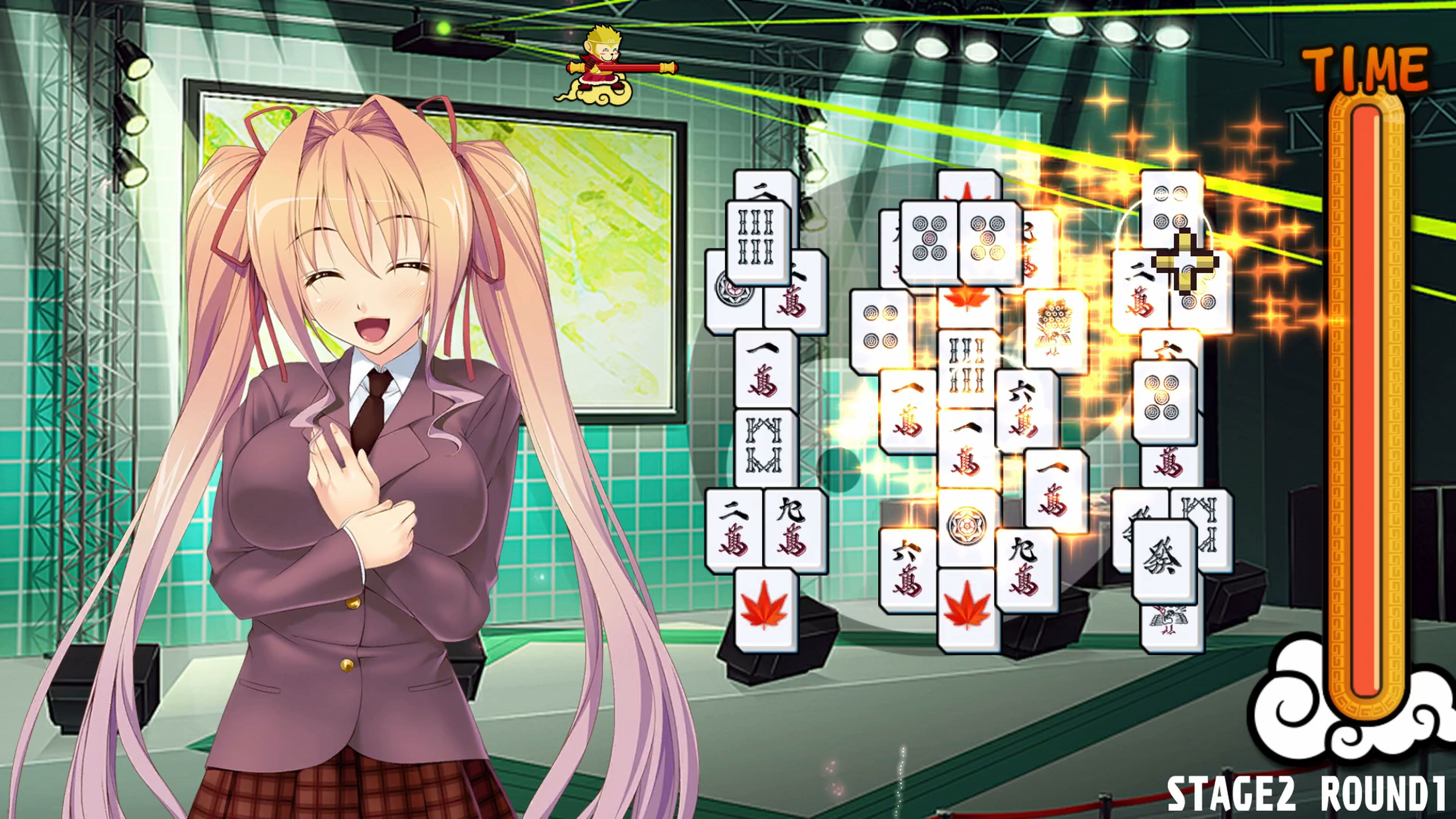 Скриншот №2 к Pretty Girls Mahjong Solitaire PS4 and PS5