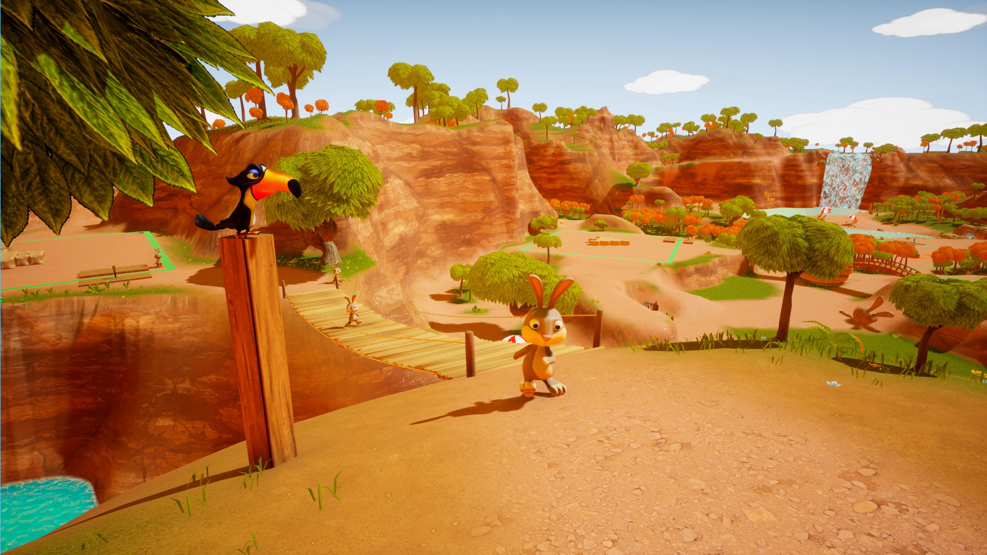 Скриншот №3 к Kick it Bunny!