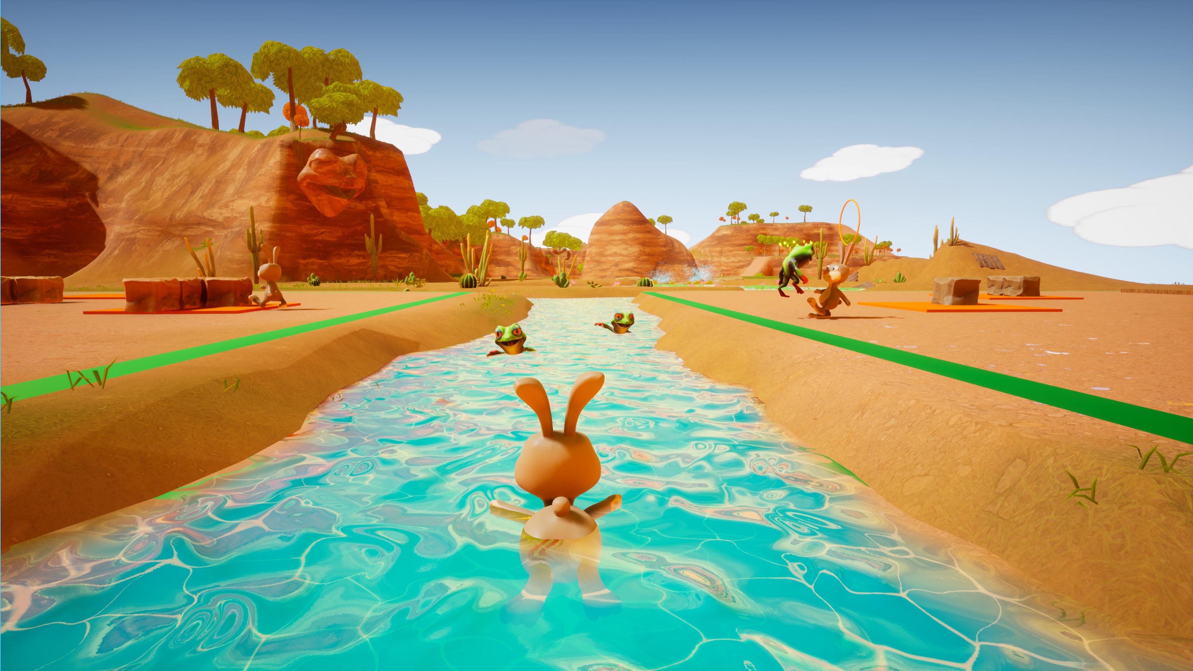 Скриншот №4 к Kick it Bunny!
