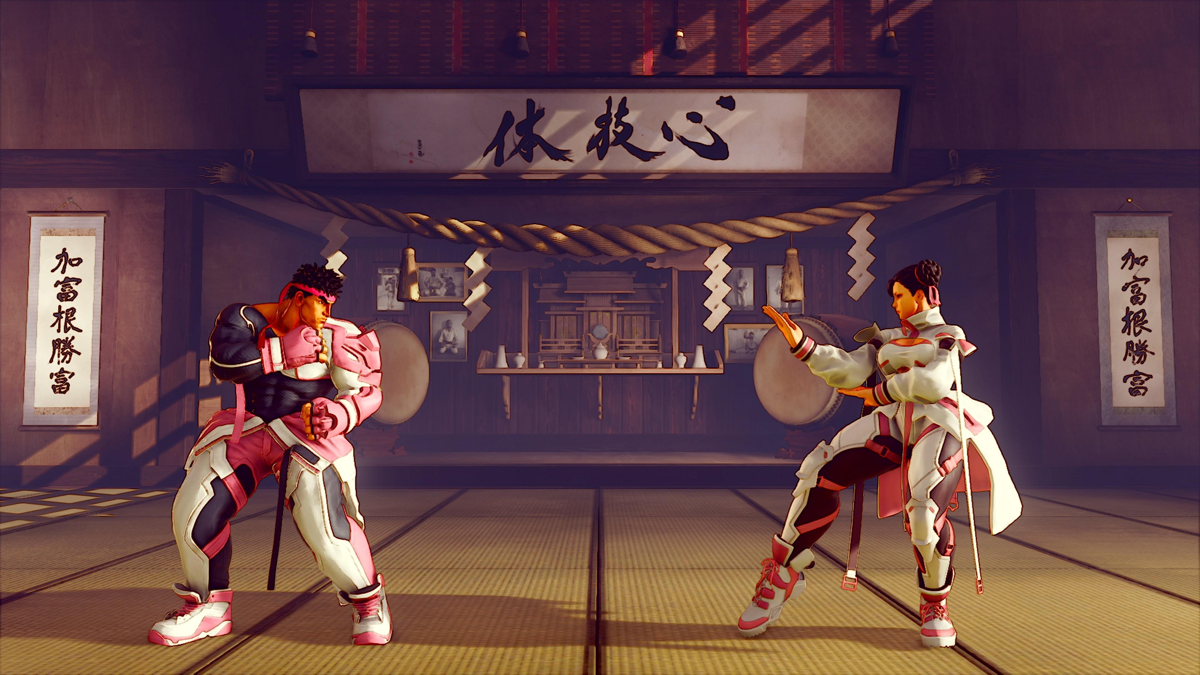 Скриншот №4 к STREET FIGHTER V -  BCRF Pink Ribbon Bundle