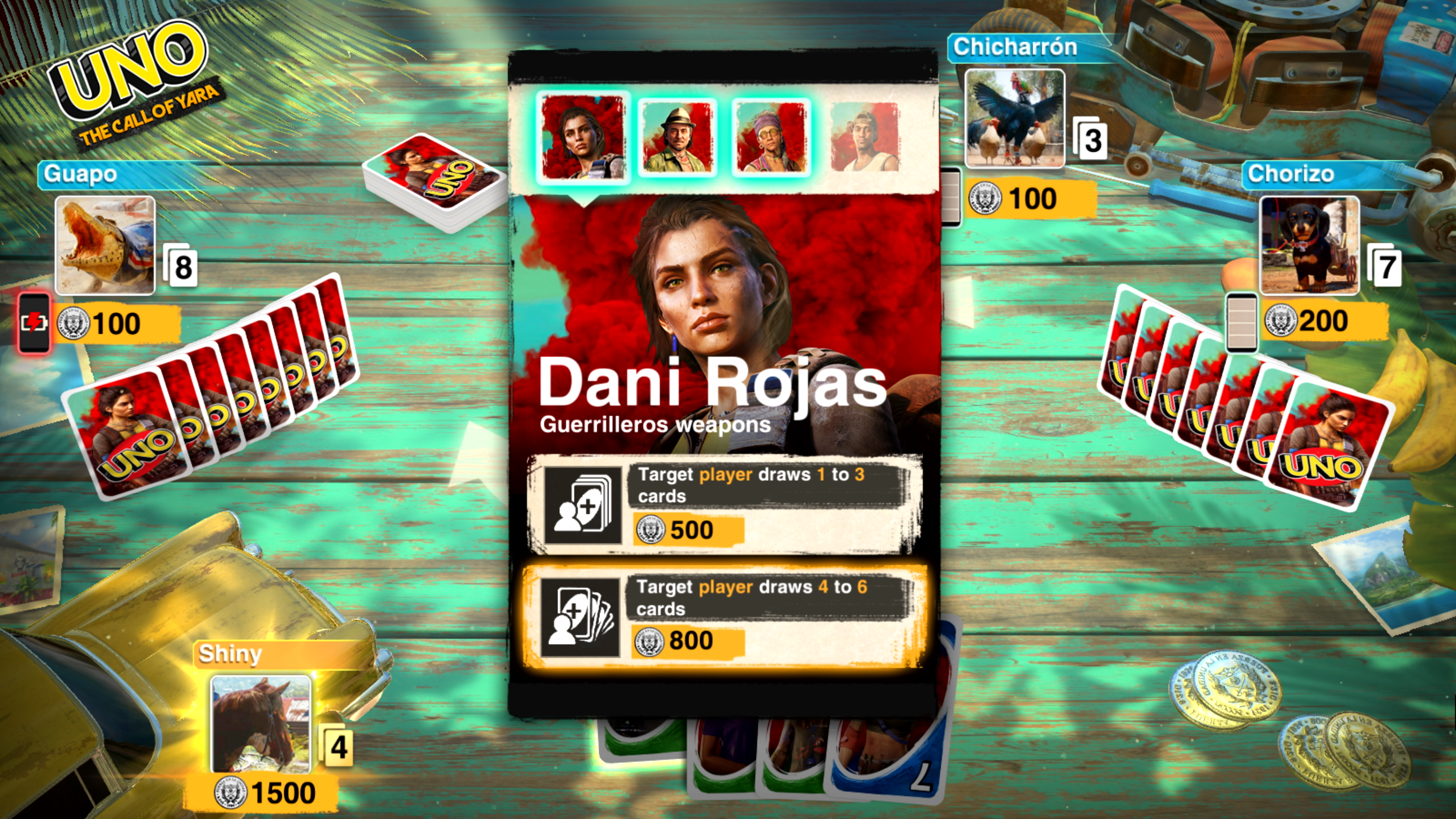 Скриншот №7 к UNO The Call of Yara DLC