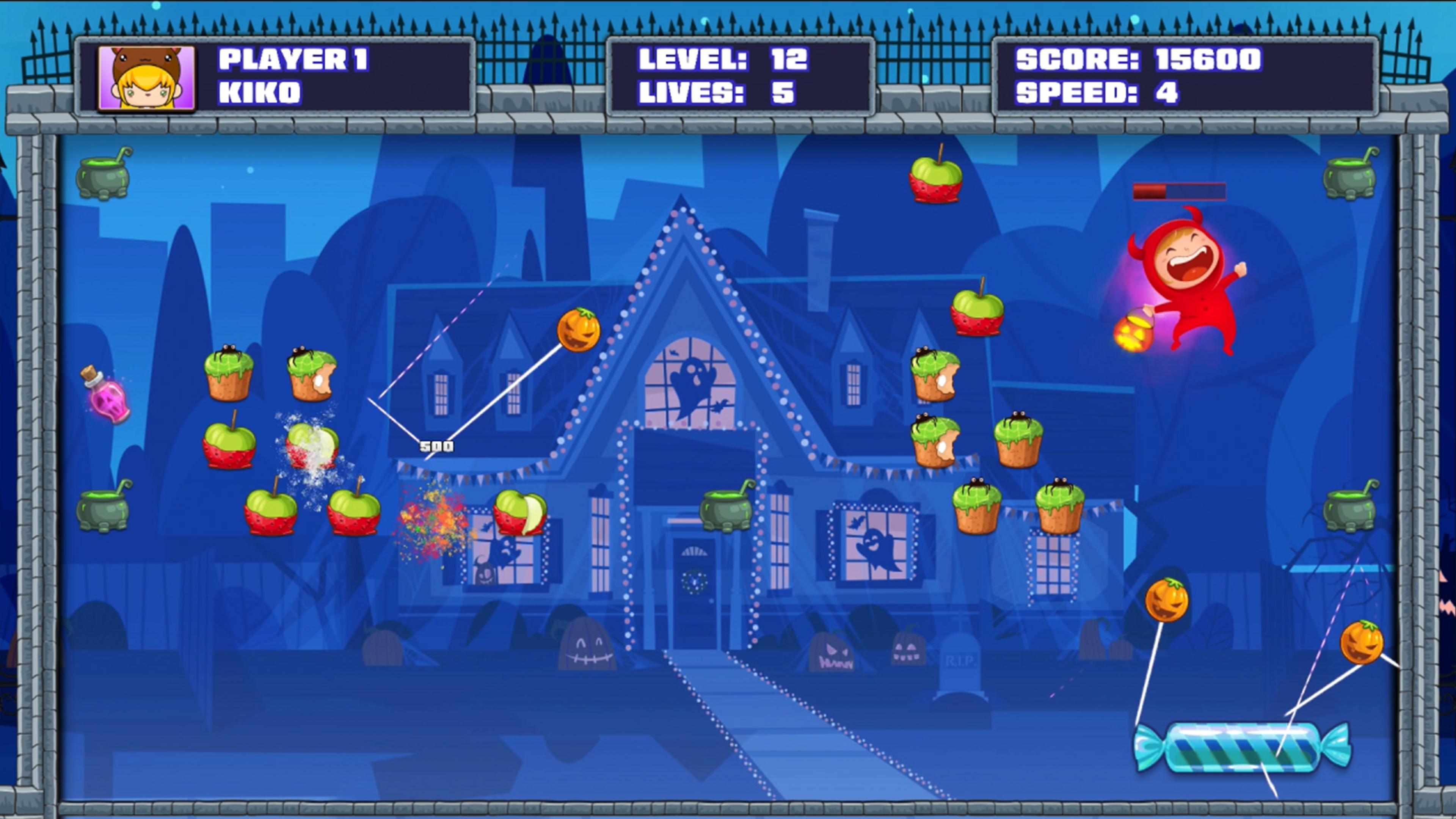 Скриншот №9 к Halloween Candy Break 2