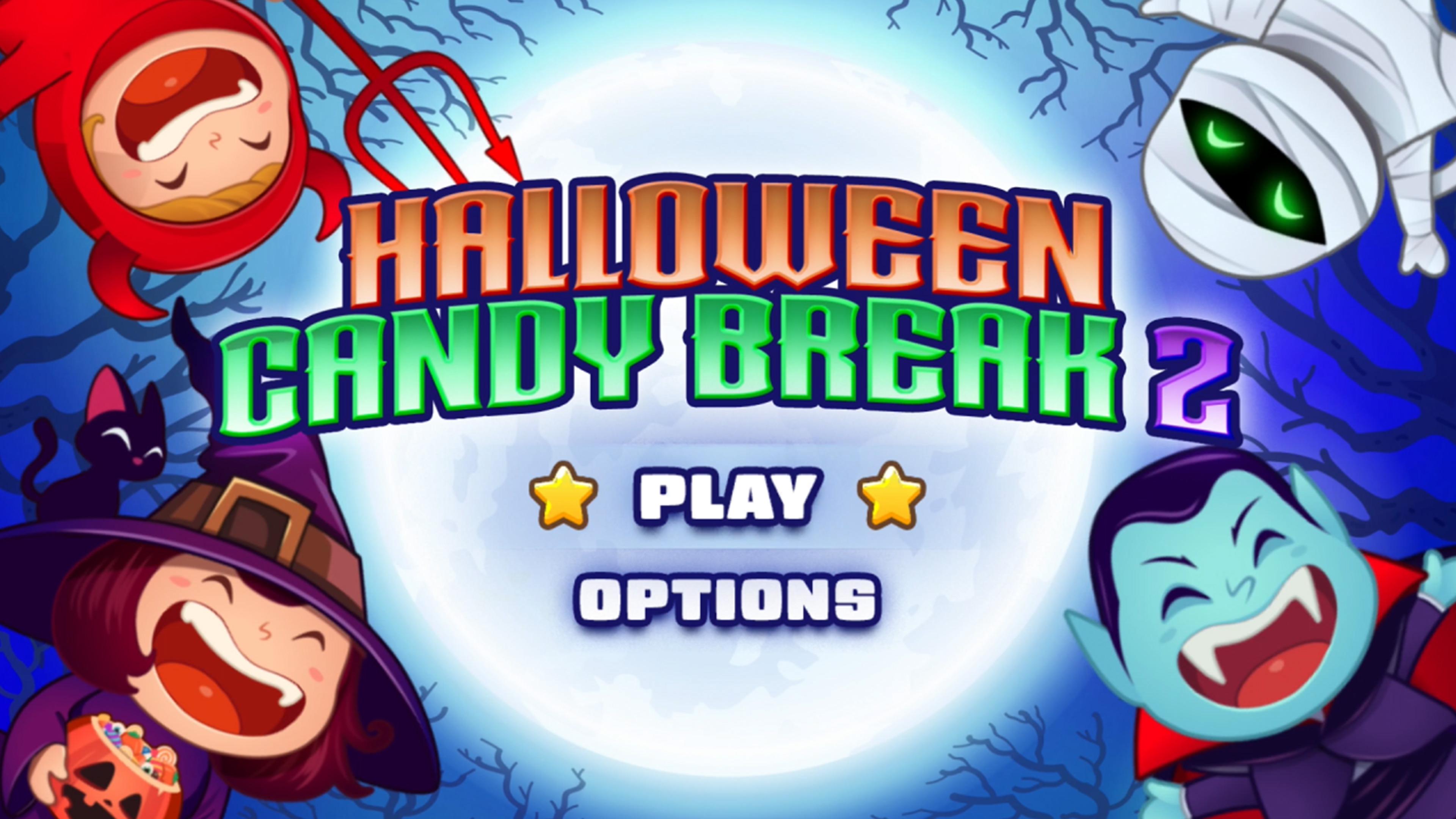 Скриншот №1 к Halloween Candy Break 2