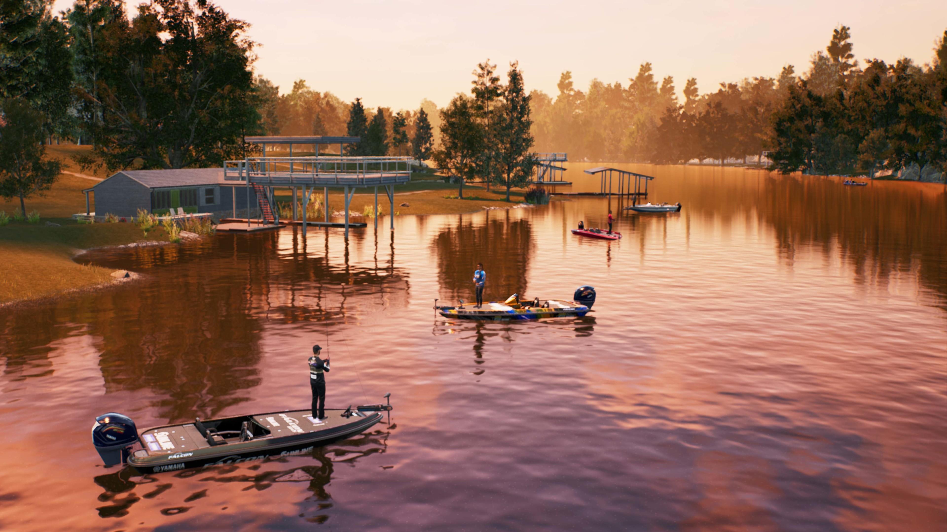 Скриншот №1 к Bassmaster Fishing 2022 PS4 and PS5