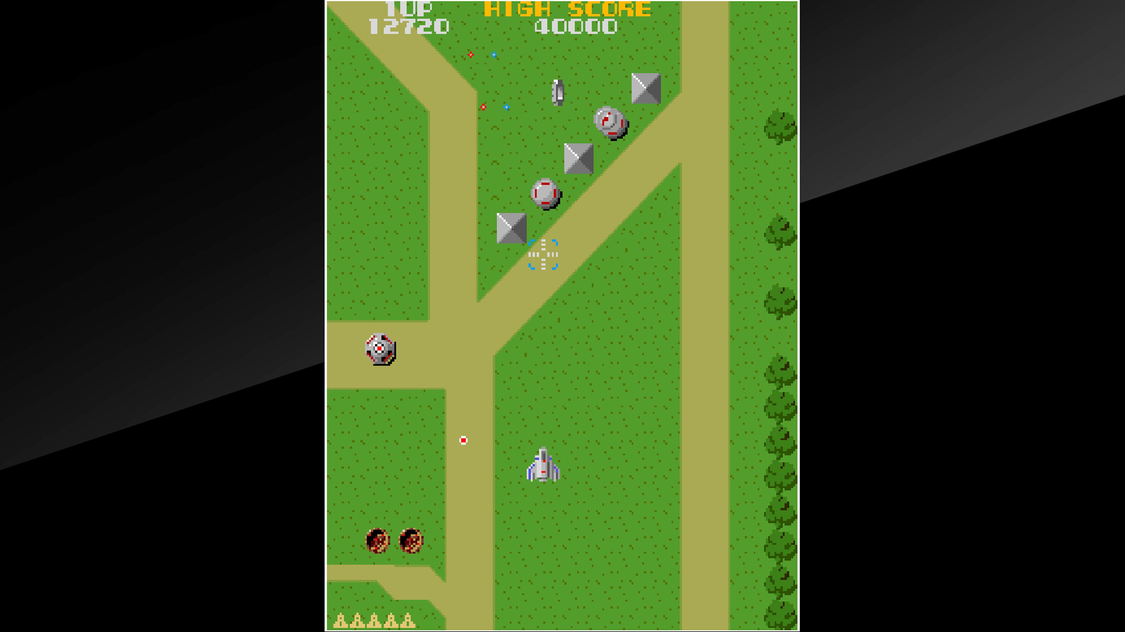 Скриншот №2 к Arcade Archives XEVIOUS