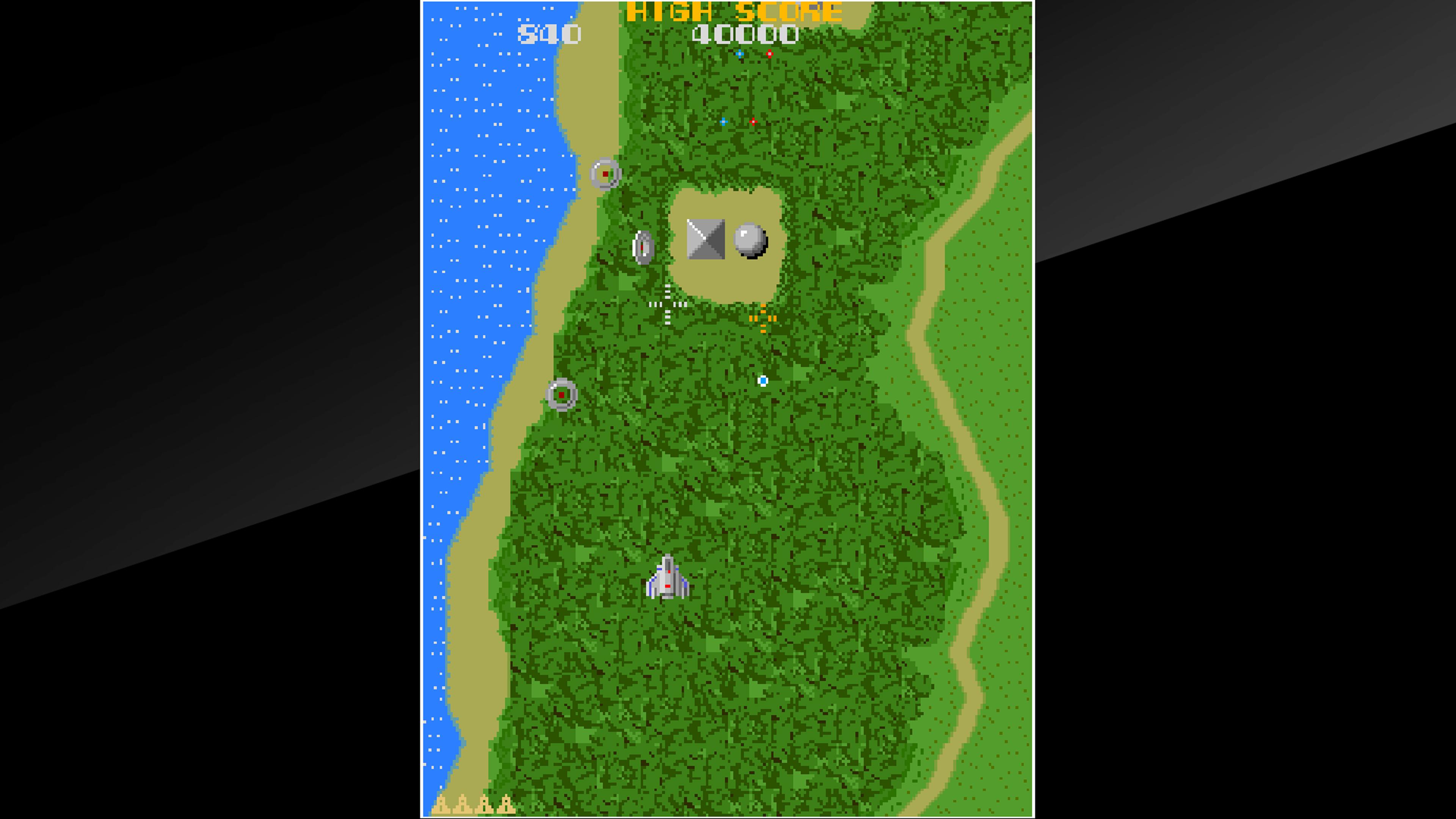 Скриншот №1 к Arcade Archives XEVIOUS