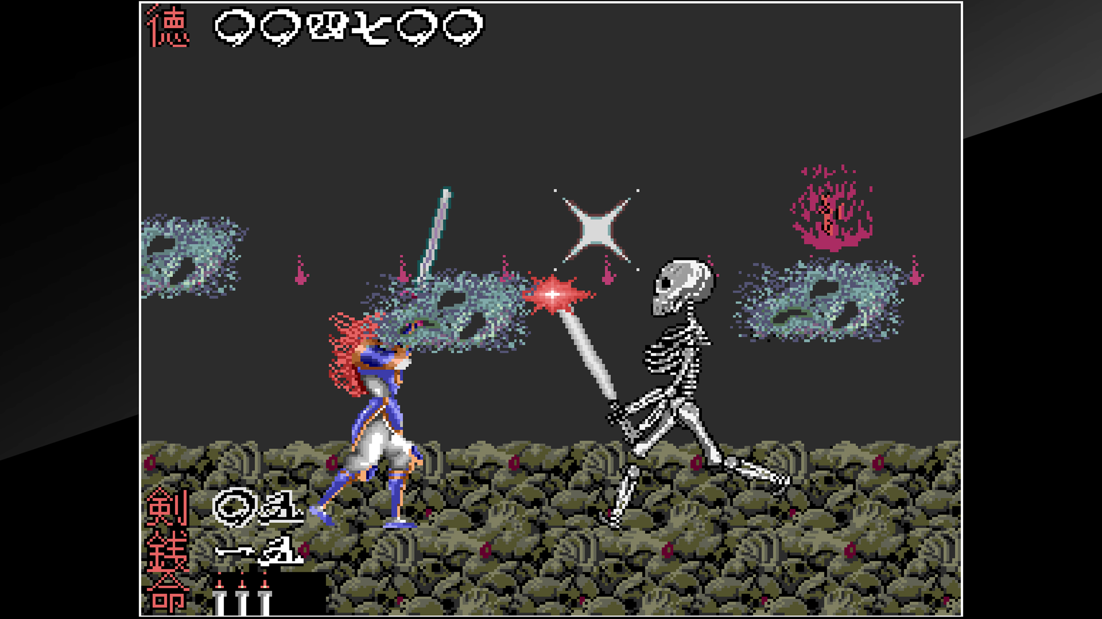 Скриншот №2 к Arcade Archives The Genji and the Heike Clans