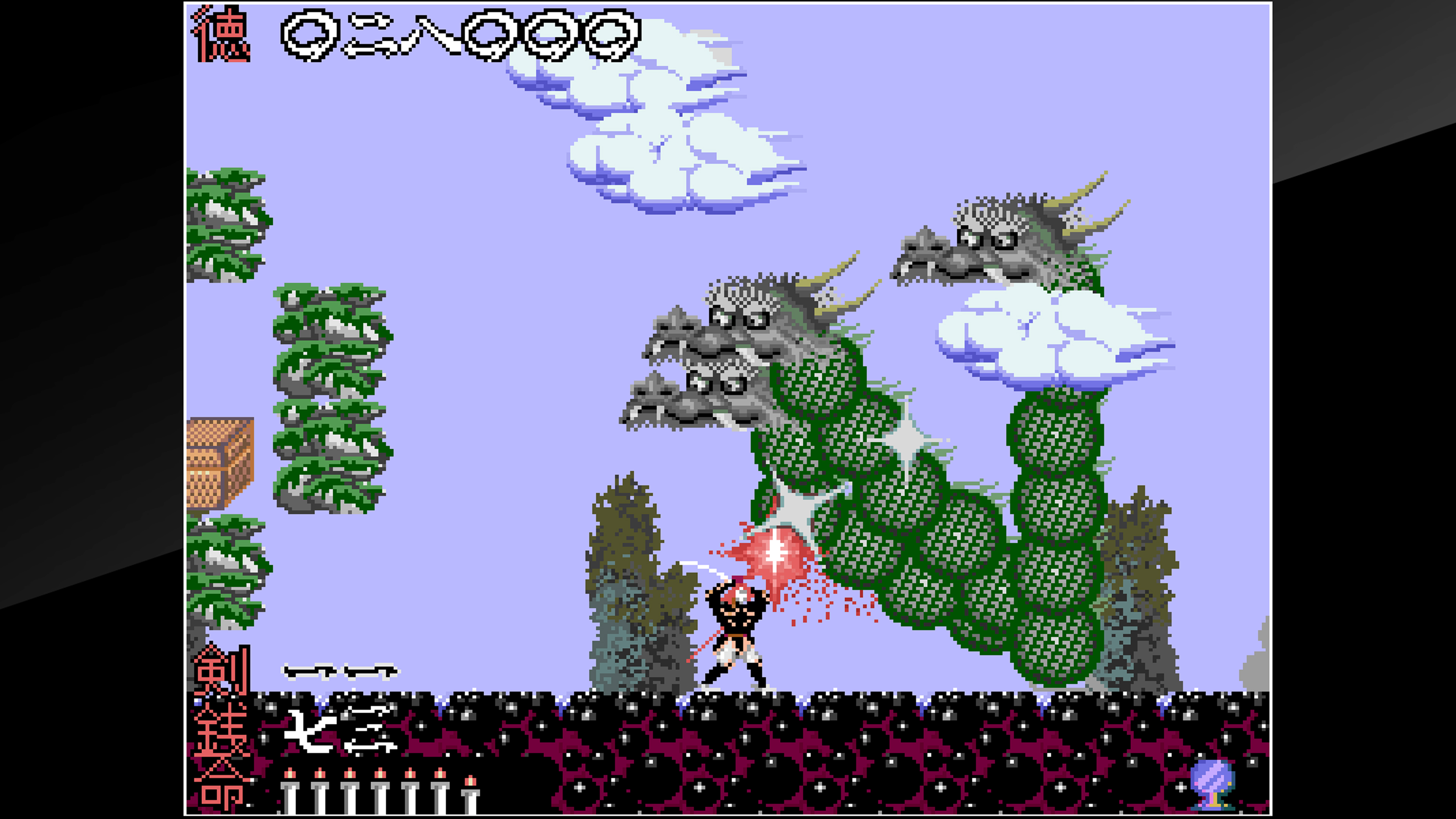 Скриншот №9 к Arcade Archives The Genji and the Heike Clans