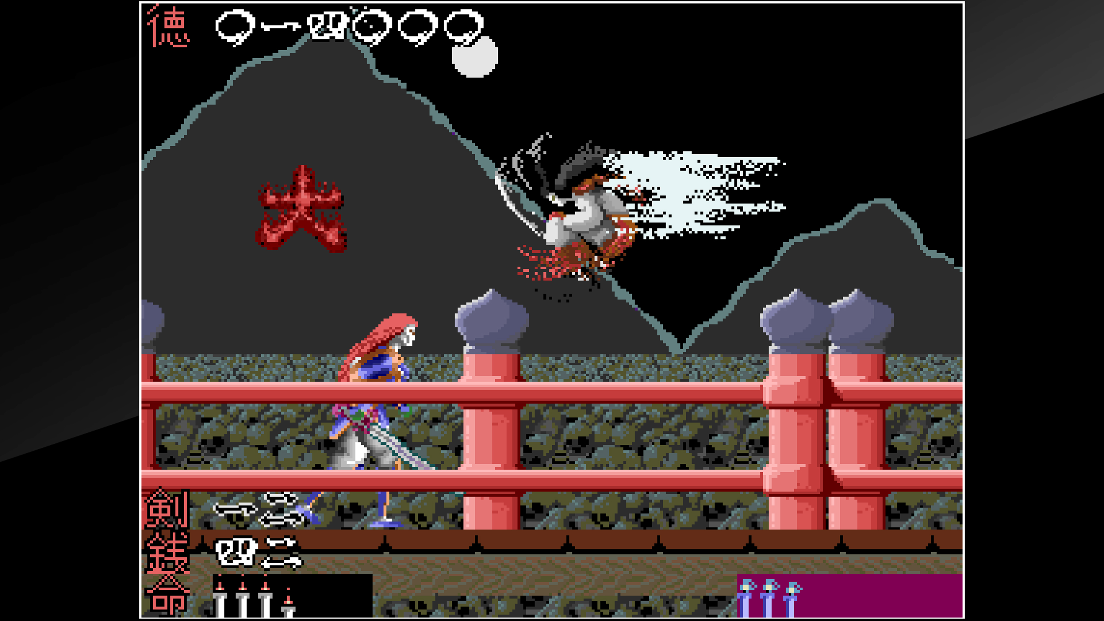Скриншот №6 к Arcade Archives The Genji and the Heike Clans